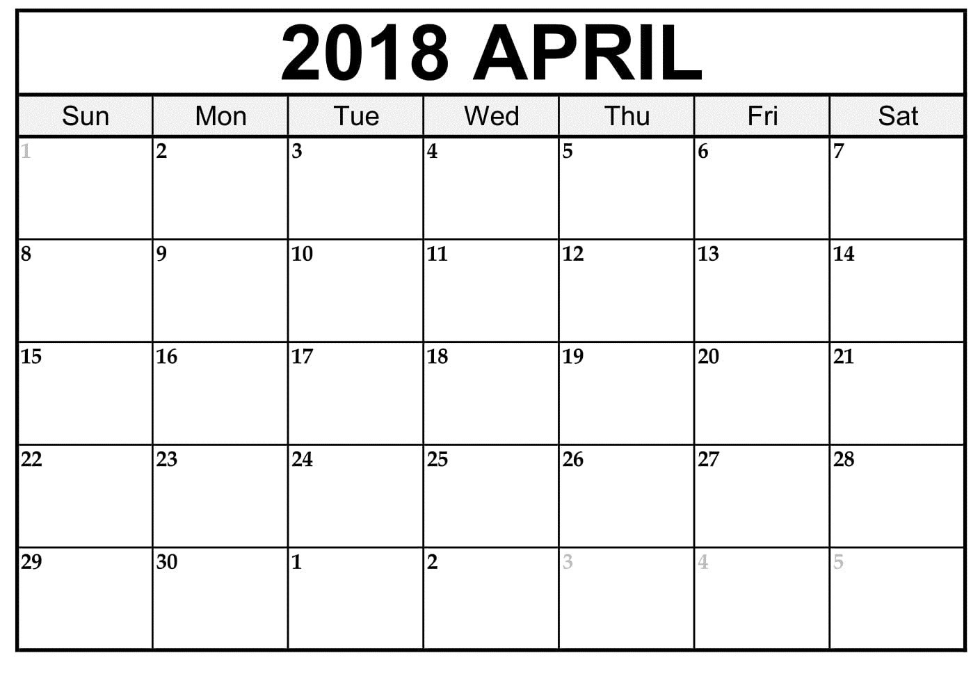 004 Blank Printable Calendar Template Ideas April Templates Inside for Blank Printable Calendar Free