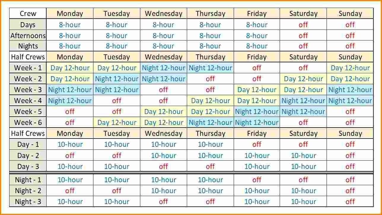 004 Hour Shift Schedule Template Ideas Calendar Awesome Fantastic 12 with Blank 12 Hour Shift Schedule Templates