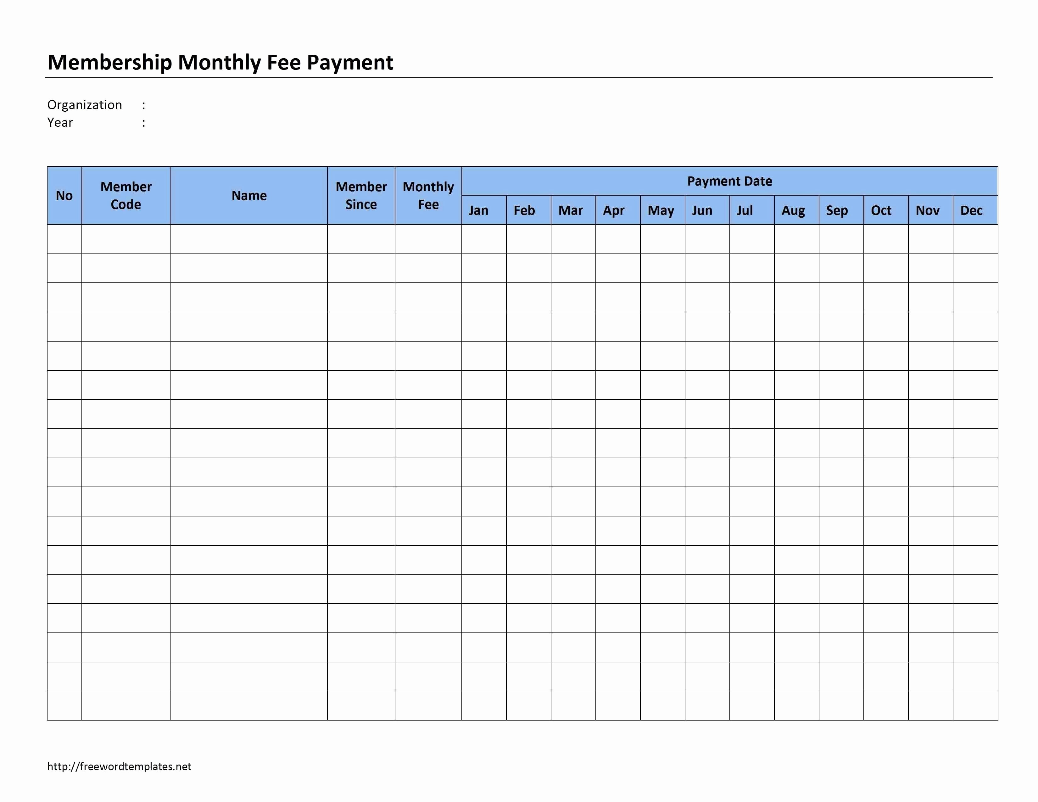004 Monthly Bill Organizer Template Excel Free Printable Payment regarding Free Bill Organizer Template Downloads