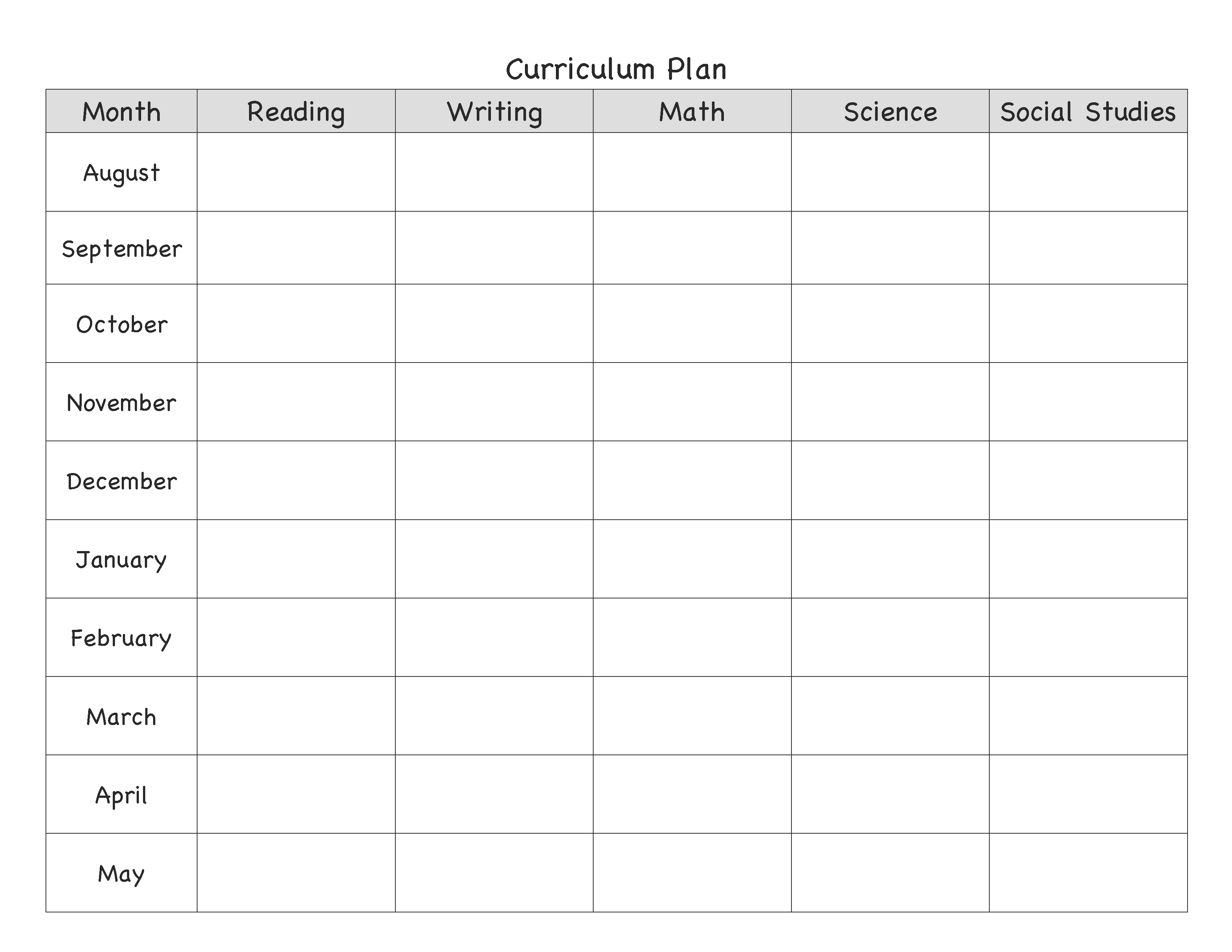004 Monthly Lesson Plan Template ~ Tinypetition within Lesson Plan Template Printable Monthly