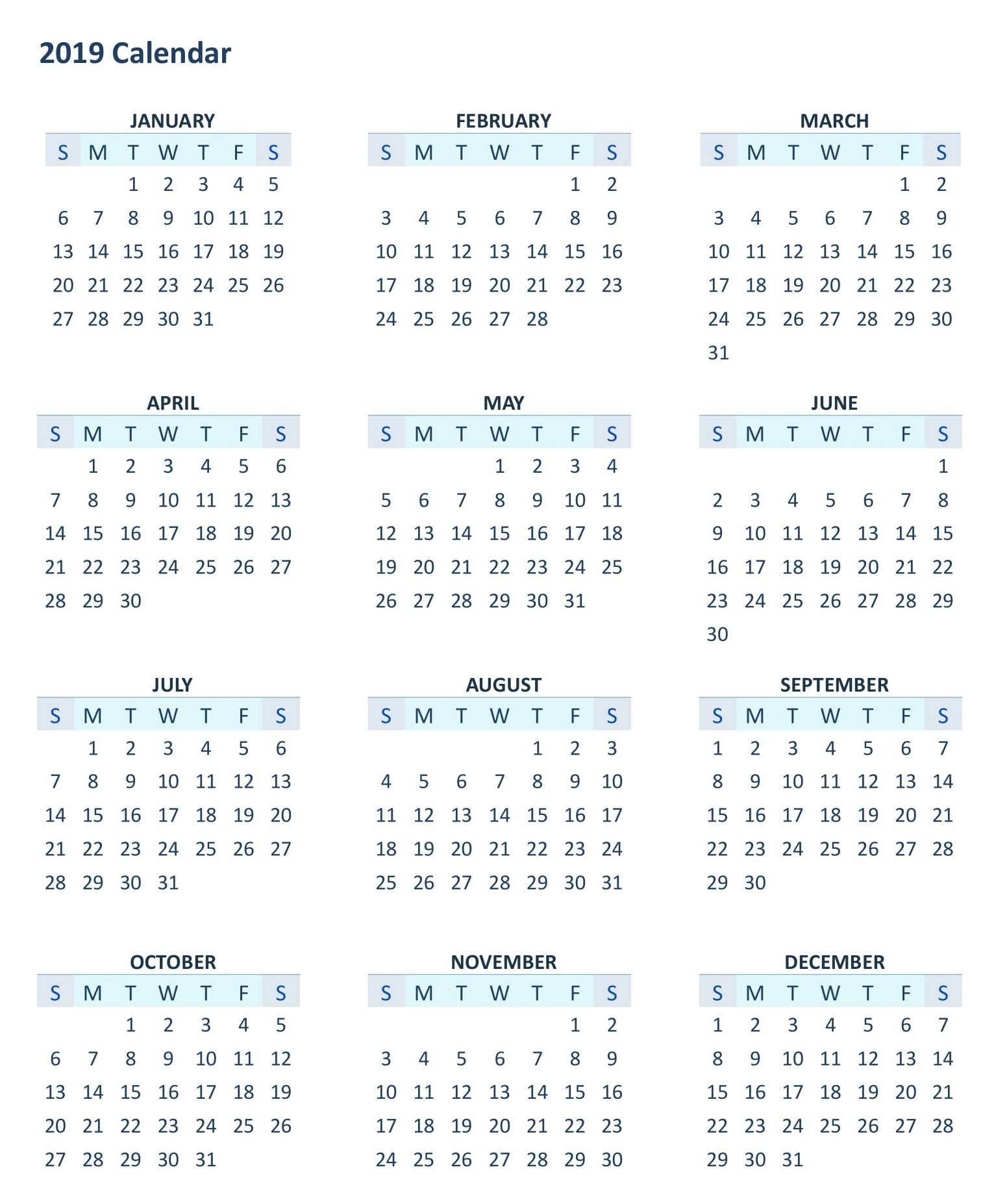005 Month Calendar Template Ic Any Year Bqvbng Amazing 12 Ideas 2019 with 12 Month Calendar Template Printable