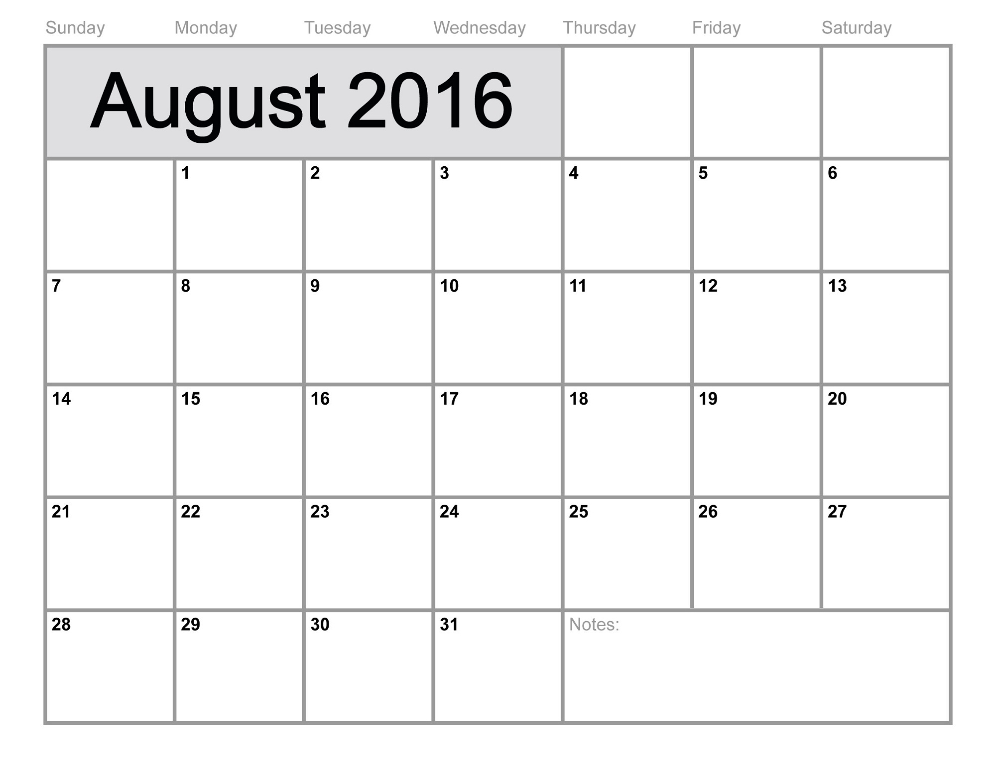 007 Printable Calendarsmonth Monthly Calendar Activity Shelter regarding Blank Printable Calendar Pages Aug