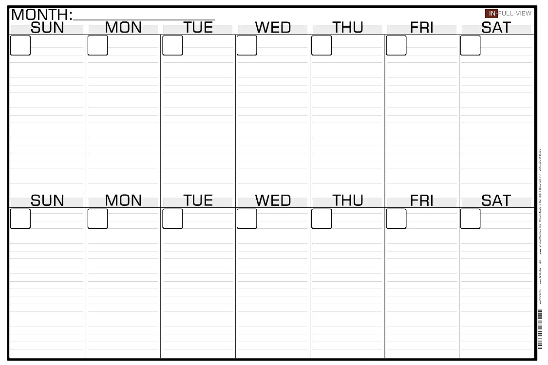 011 Two Week Printable Calendar Template Stupendous Ideas 2 Free for Blank Two Week Schedule Template