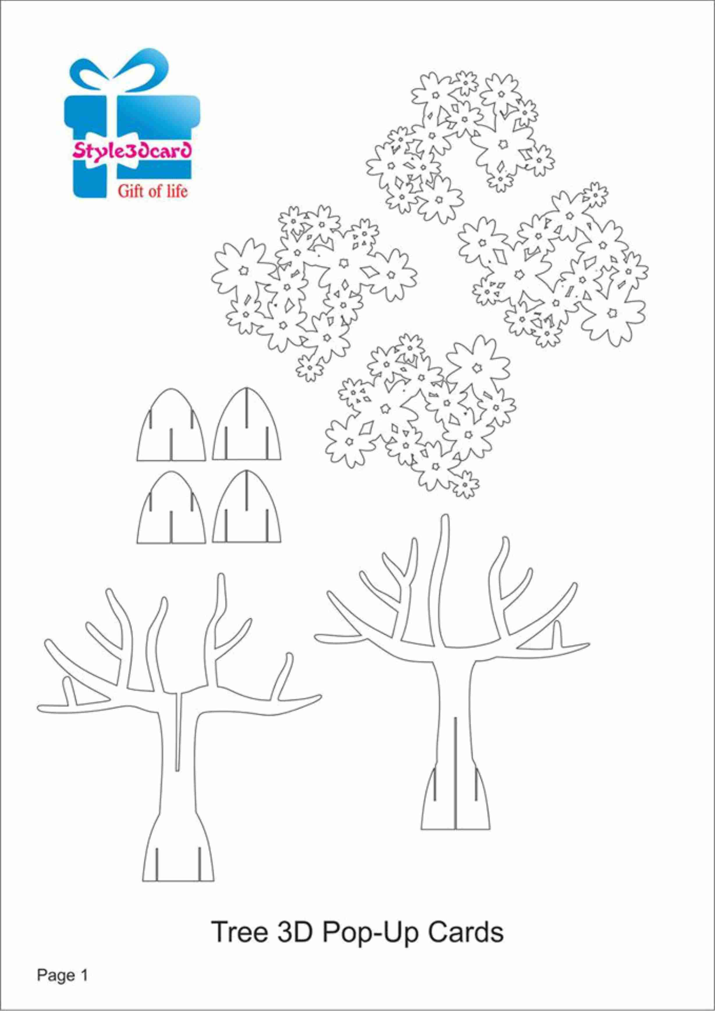 012 Template Ideas Popup Booksl1 Pop Up Cards Breathtaking Templates for Printable Christmas Tree Templates 3D