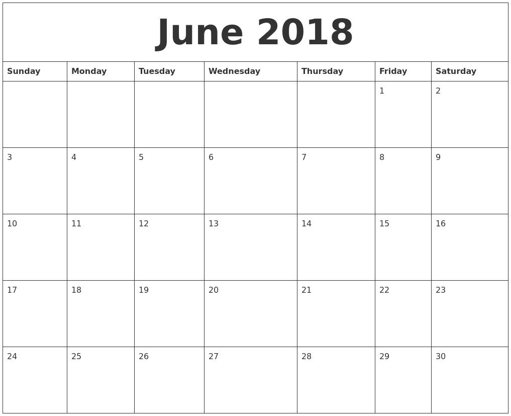 013 Printable Word Calendar June Fearsome 2017 September Template intended for June And July Blank Calendar