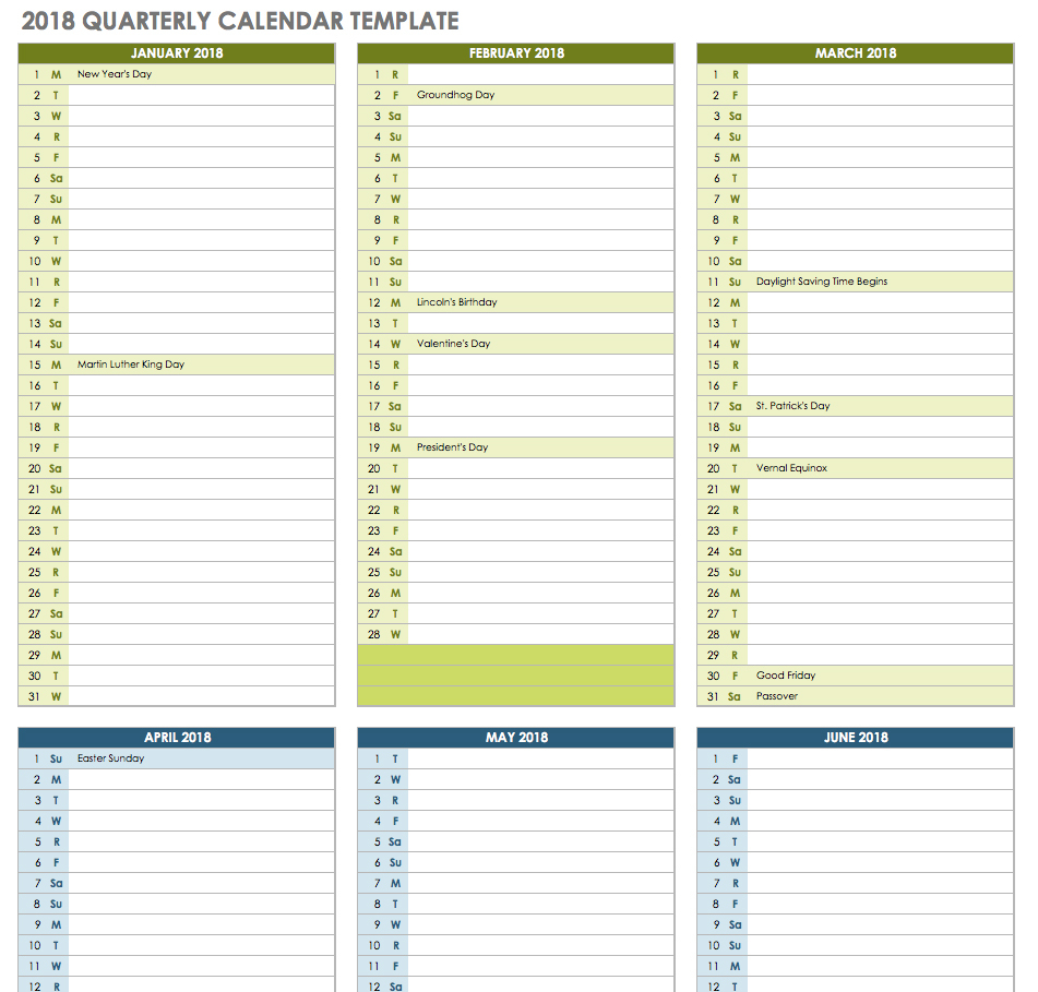 020 Monthning Calendar Template Ic Quarterly ~ Tinypetition in Excel Quarterly Calendar Template