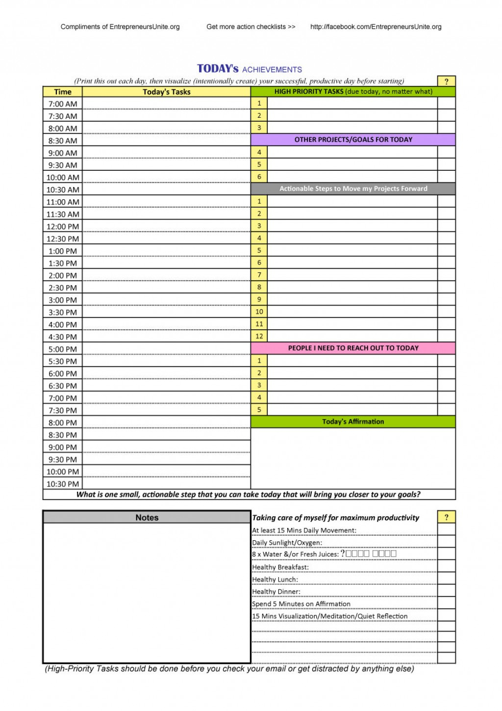 021 Daily Schedule Template Printable Ideas 20Daily Hourly Planner pertaining to Large Printable Daily Schedule Template