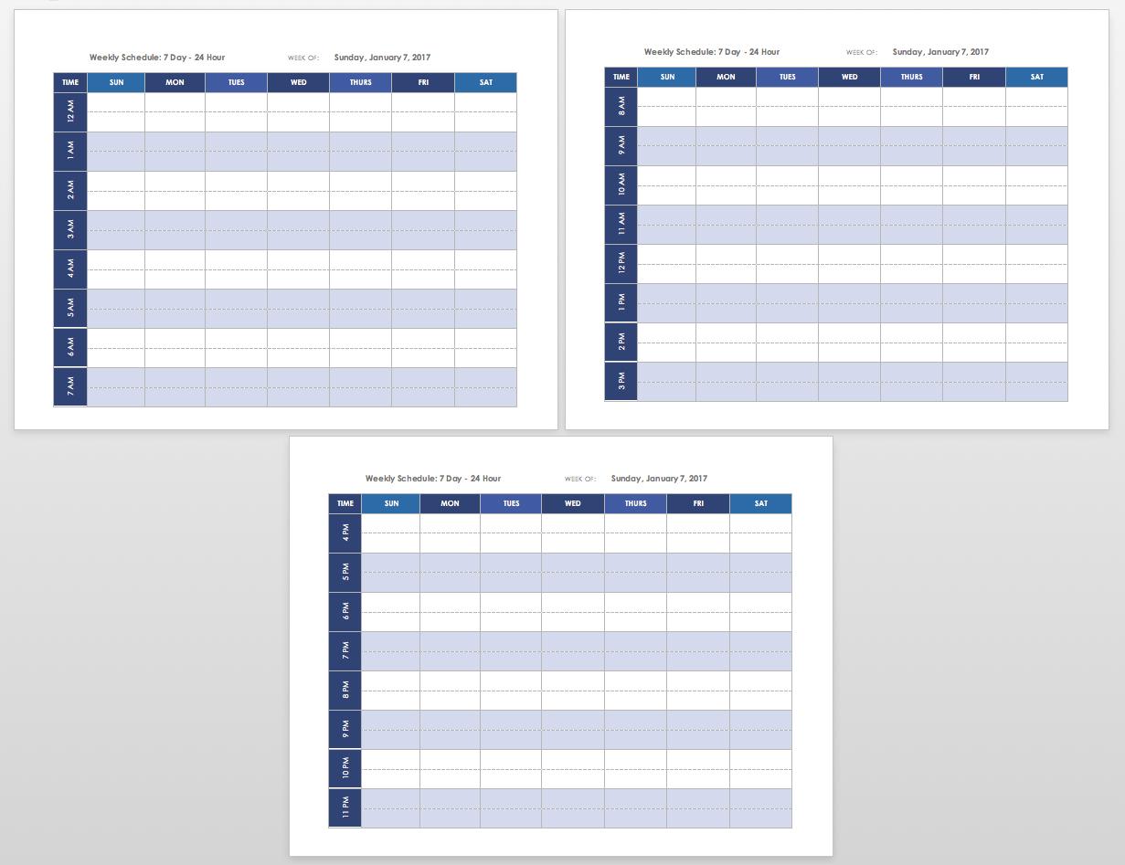 021 Plan Templates Ic Printable Weekly Calendar Template Landscape regarding Free Printable Weekly Calendar Templates