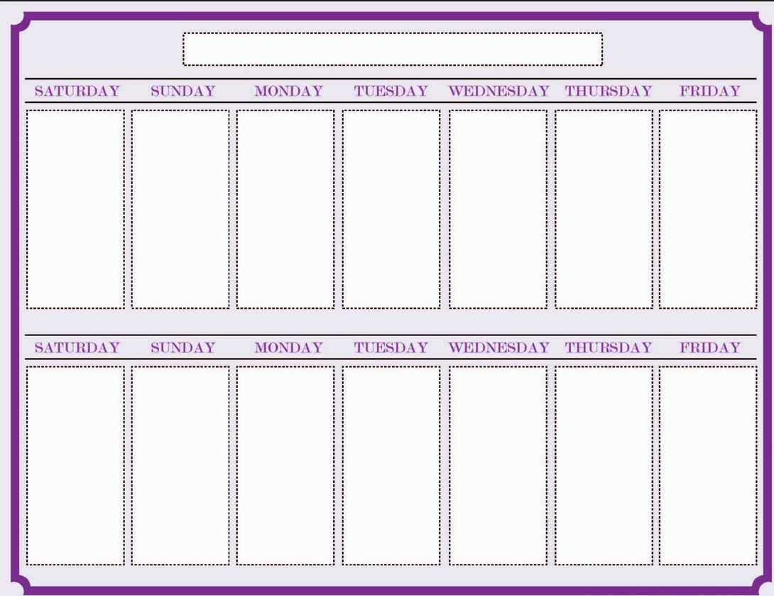021 Two Week Calendar Template Stupendous Ideas Printable 2 Excel regarding Two Week Blank Calendar Template