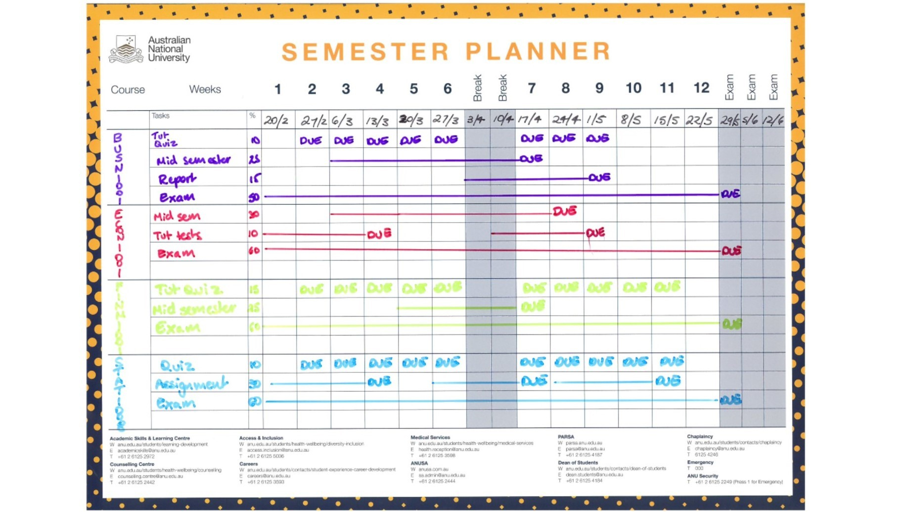 027 Yearly Plan Template For Teachers Unit Stunning Templates in Yearly Planning Calendar Template For -2019