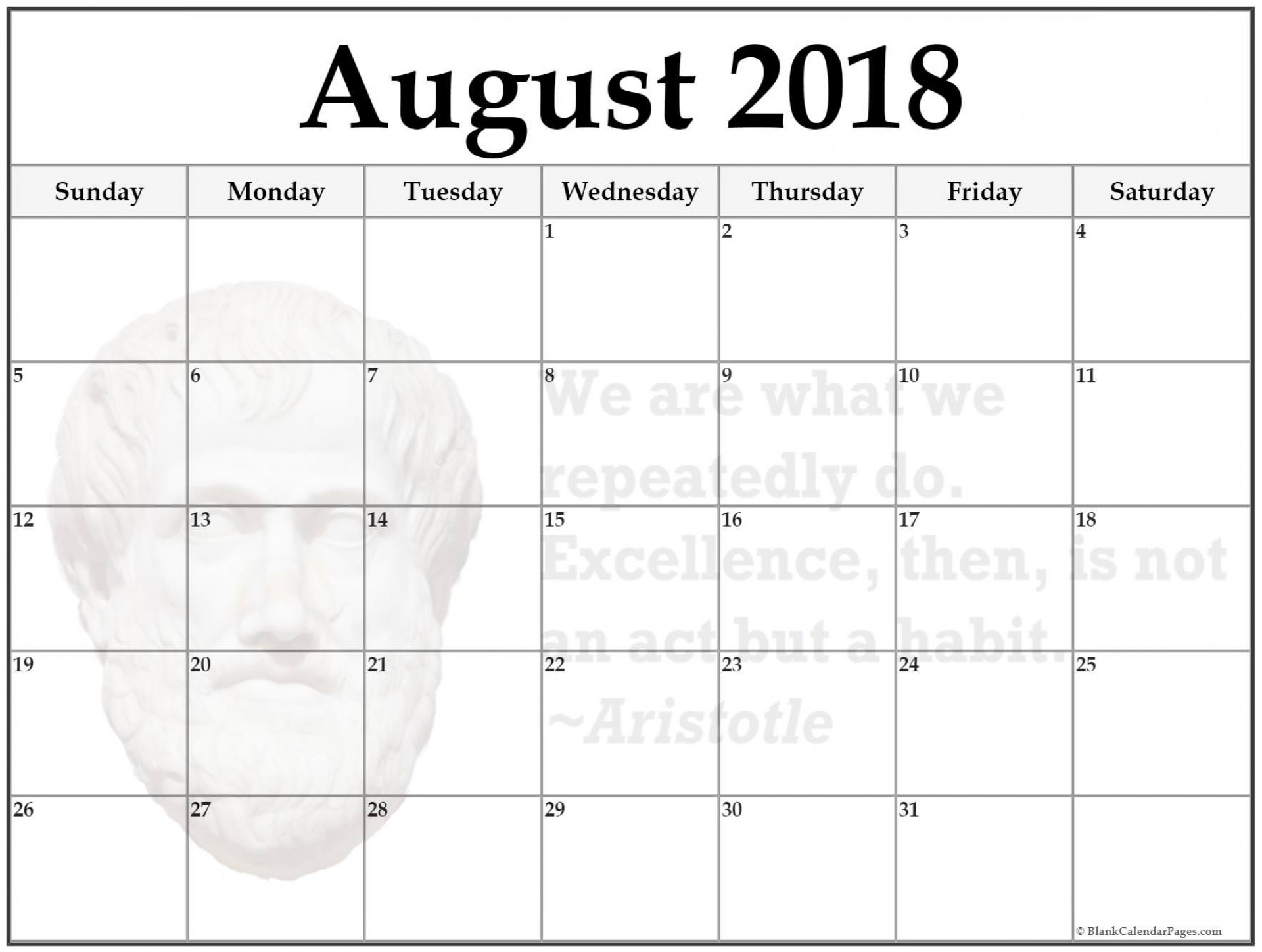 030 Week Calendar August Printable Phenomenal 2018 Word September intended for August Printable Calendar Weekly Template
