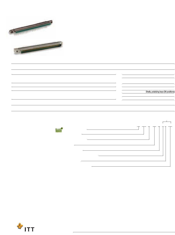 096510-0042 Datasheet - Itt Cannon, Llc   Digikey with Itt Technical Institute Blank Letterhead