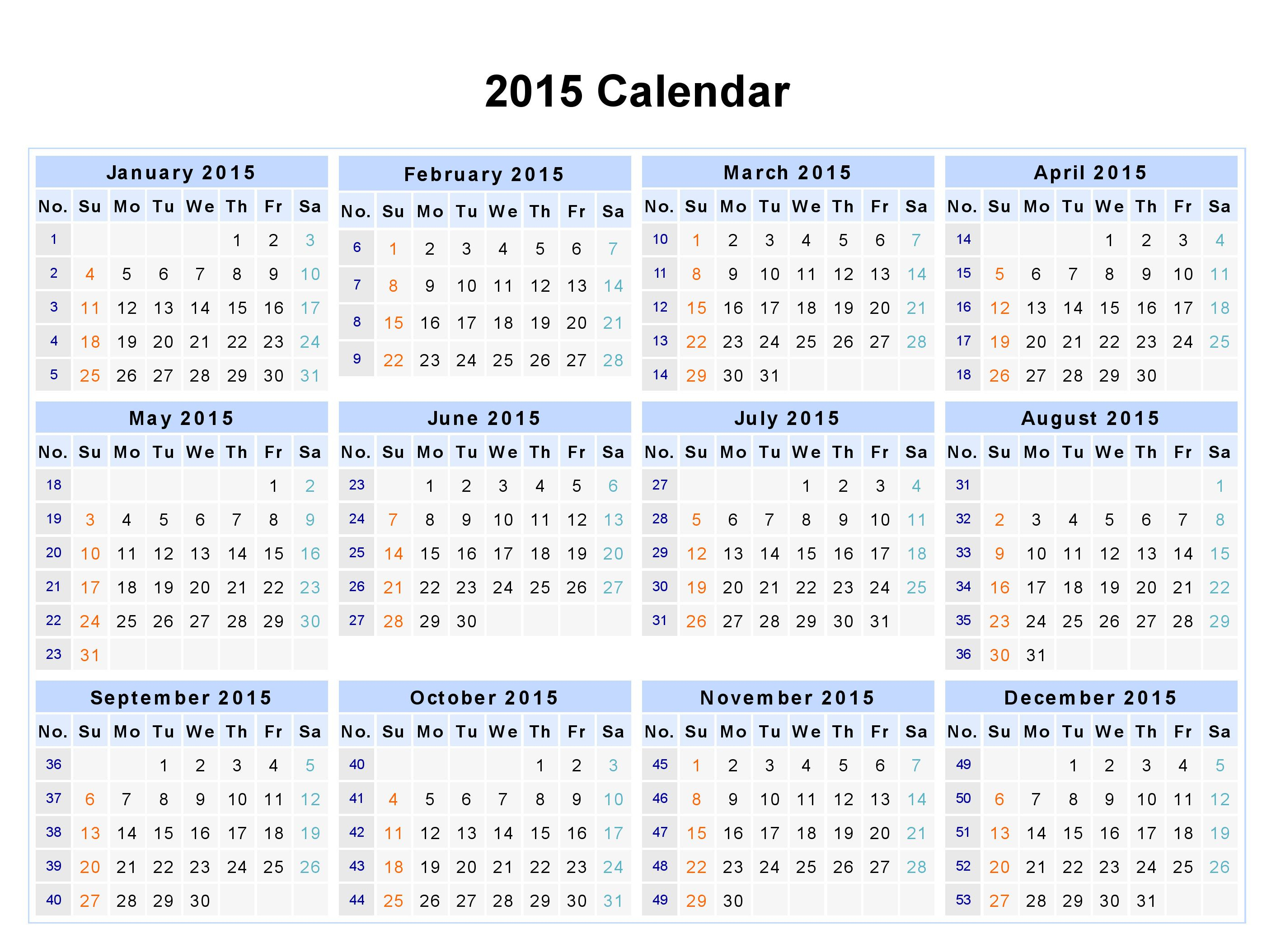 12 Month Calendar 2015 - Google Search | Quotes, Thoughts, And in 2014 12 Month Blank Calendar