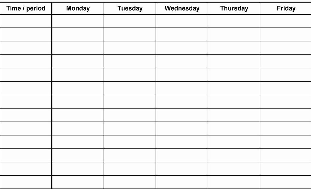 12 Week Blank Calenda Printable Template   Blank Calendar Template with regard to Printable Blank 12 Week Calendar Template