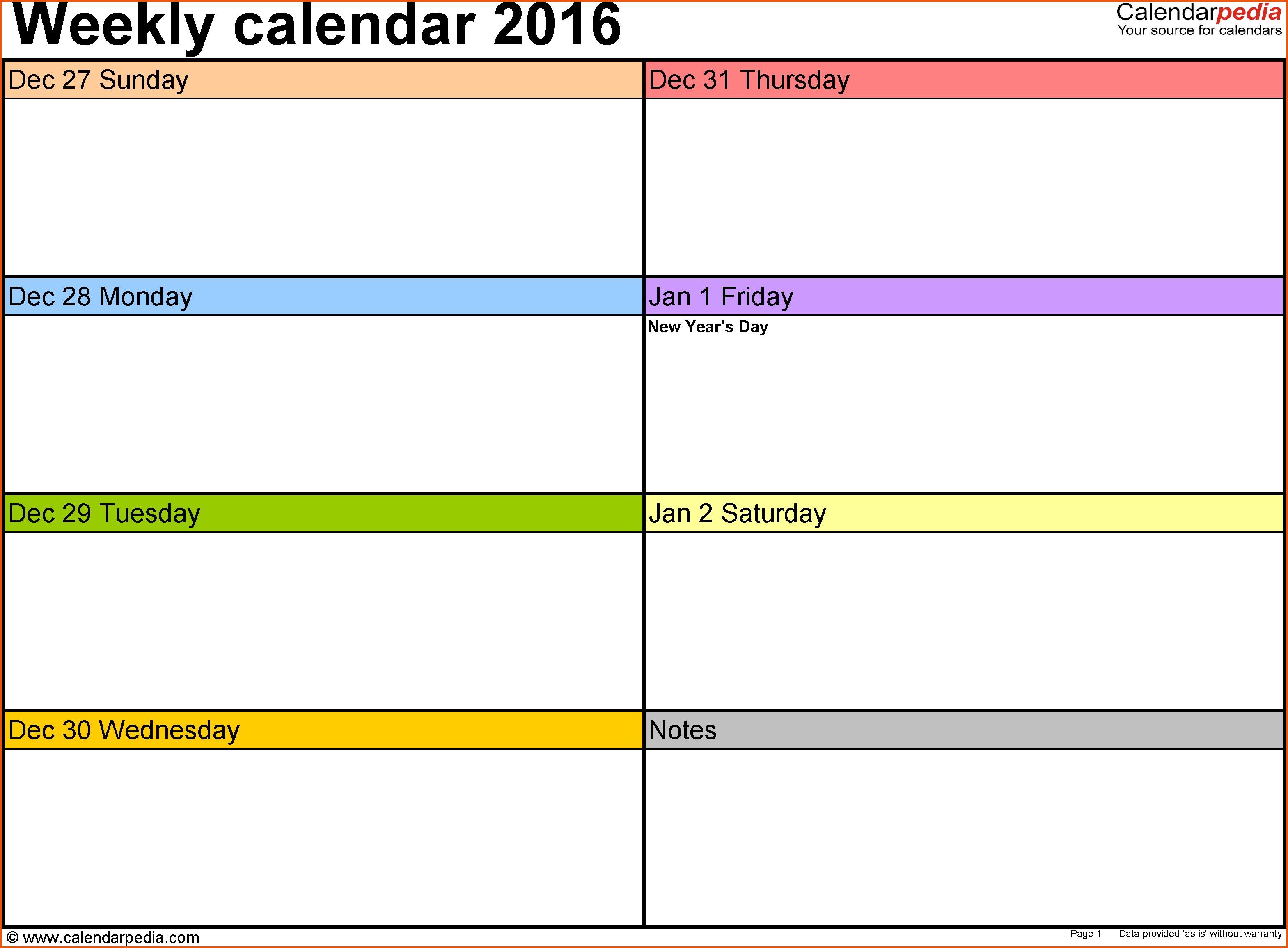 12 Weekly Calendar Template Word Survey Template Words In Weekly with regard to Printable Blank 12 Week Calendar Template
