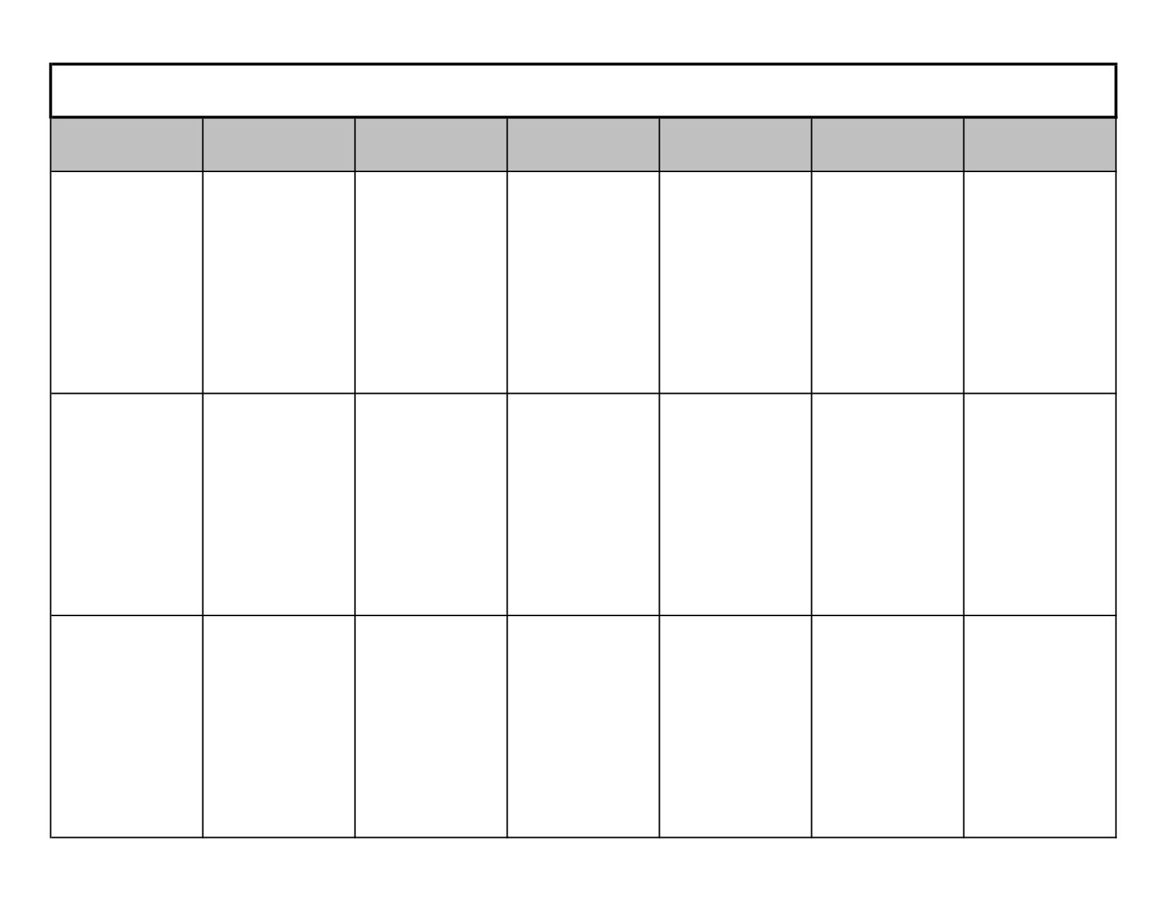 16 Blank Printable Weekly Calendars Templates Images - Blank intended for Blank Printable Weekly Calendar