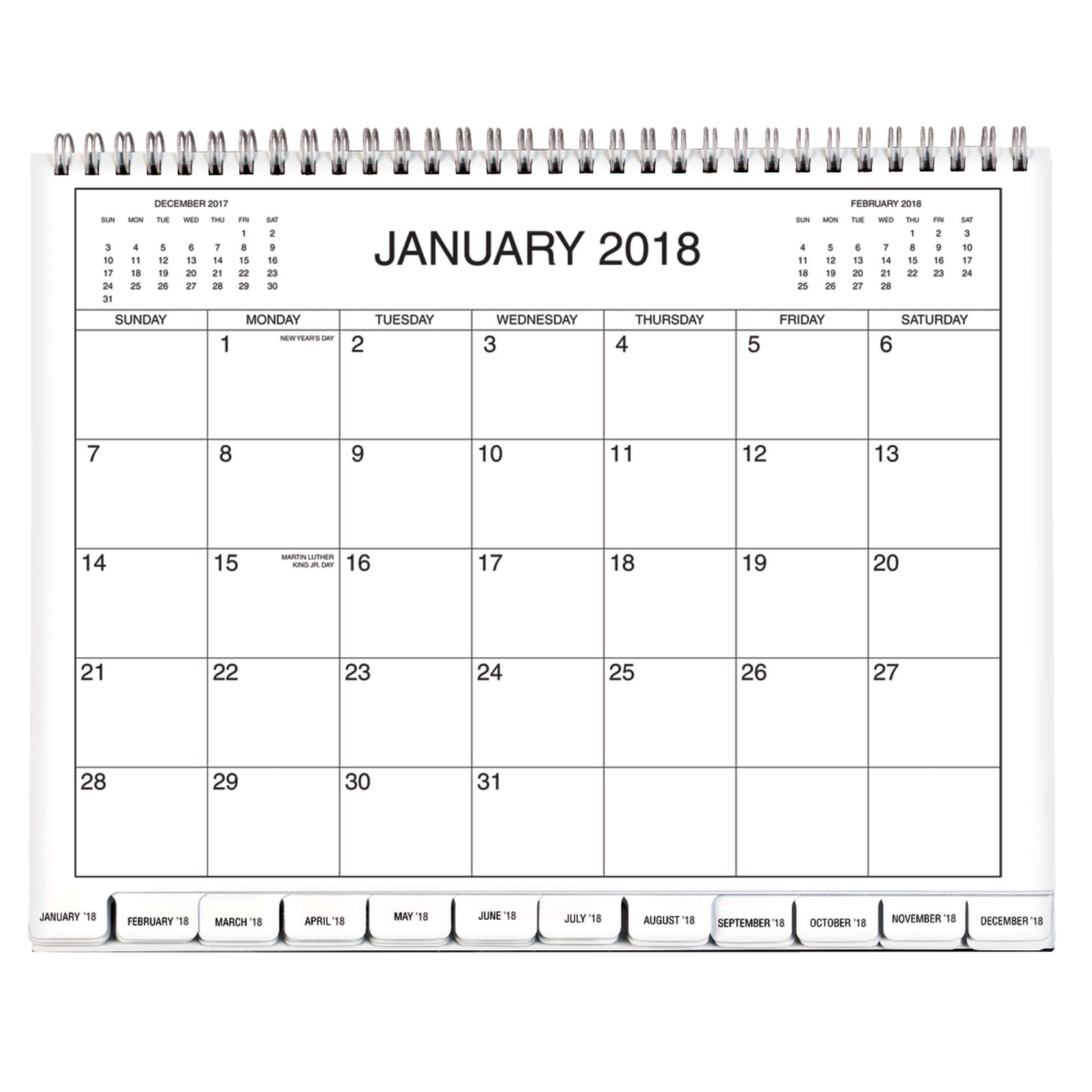 """2-Year Large Calendar – 14 1/4"""" X 21 3/4"""" Calendar in Year Calendar 2020 With Space To Write"""