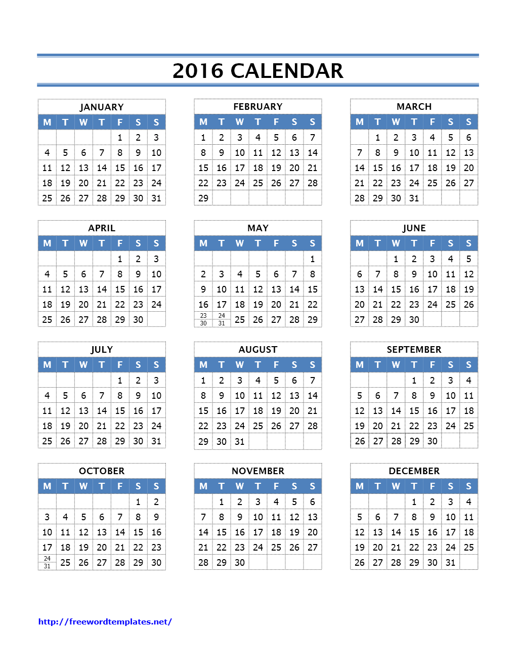 2016 Calendar Templates regarding Editable 2015 Monthly Calendar Template