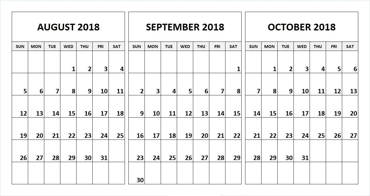 2018 Calander With Holidays August To December | Calendar Format Example throughout November Calendar For Quikcalendertemplate