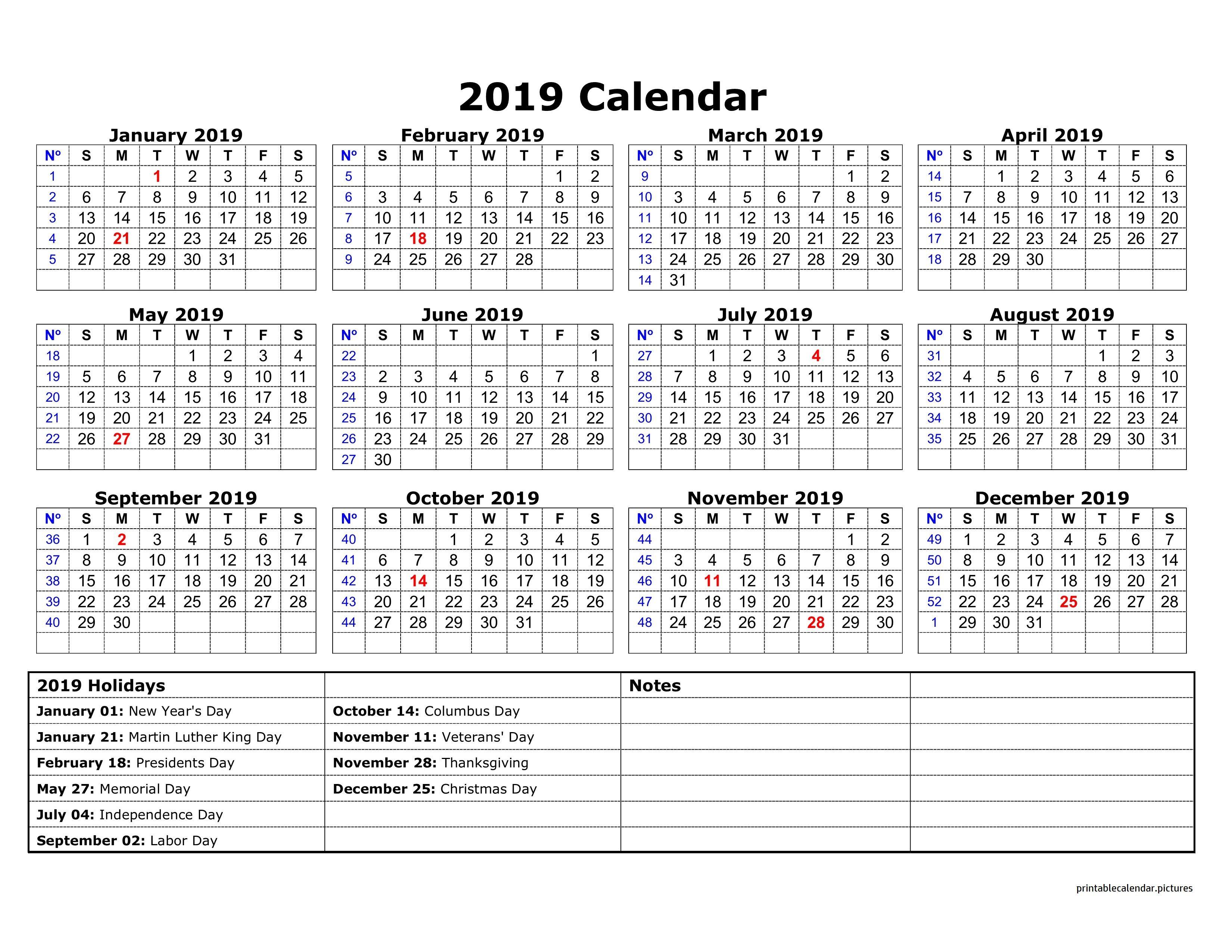 2019 Calendar Holidays Australia | 2019 Calendar Holidays | Free intended for Calendar With Holidays Templates