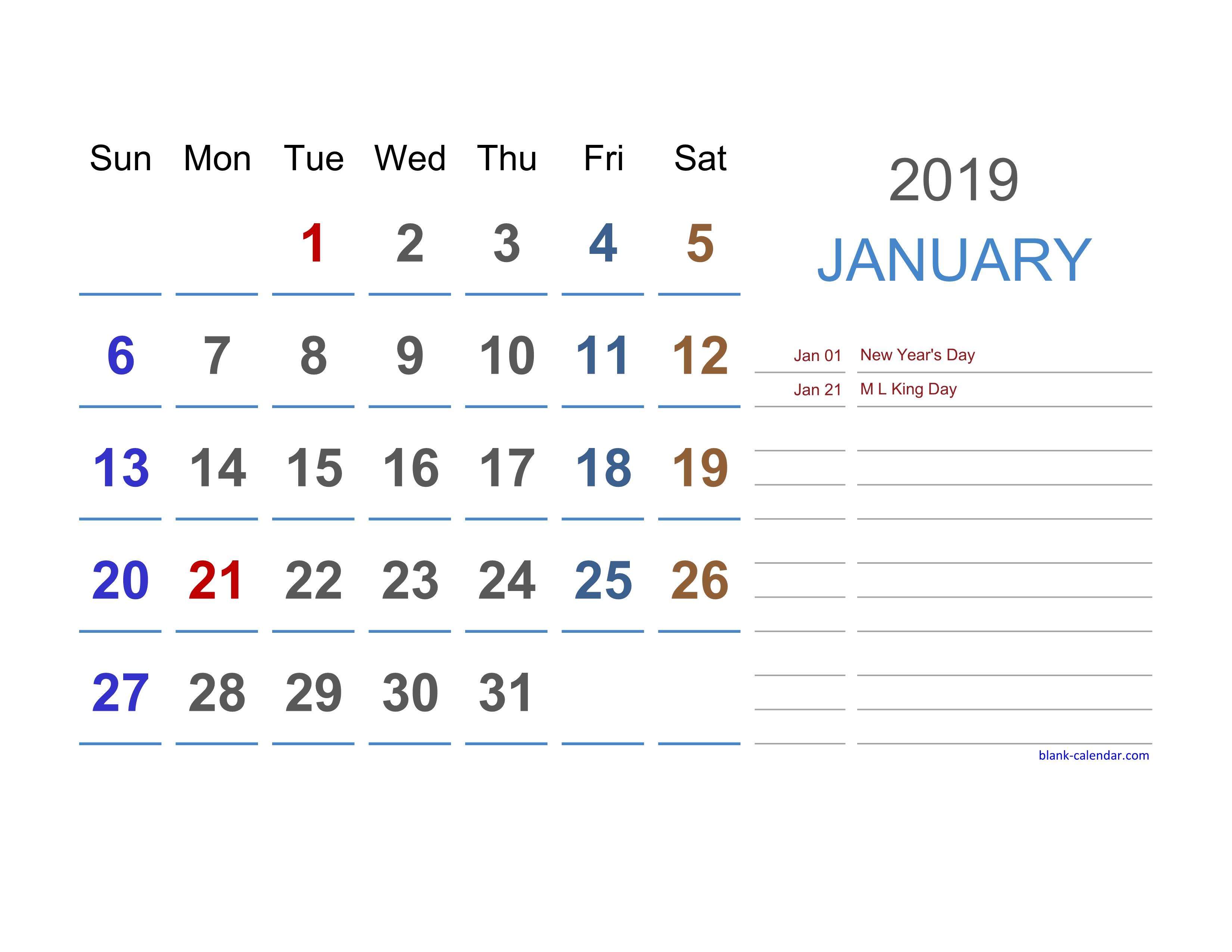 2019 Excel Calendar | Free Download Excel Calendar Templates with Free Printable Event Calendar Template