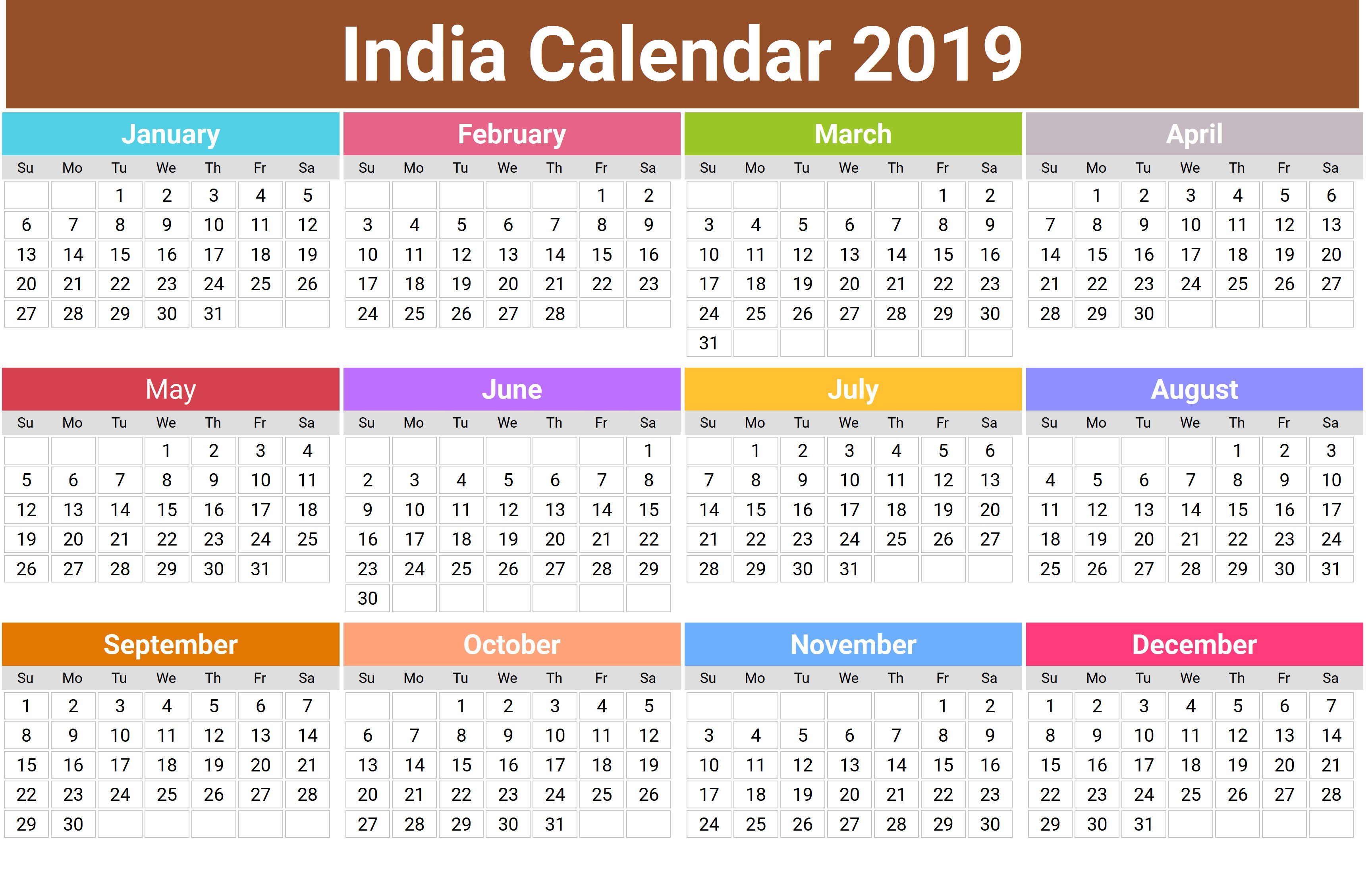 2019 Hindu Calendar With Tithi | Tyohar, Holidays, Festivals within Calender Of October 2019 According To Tithi
