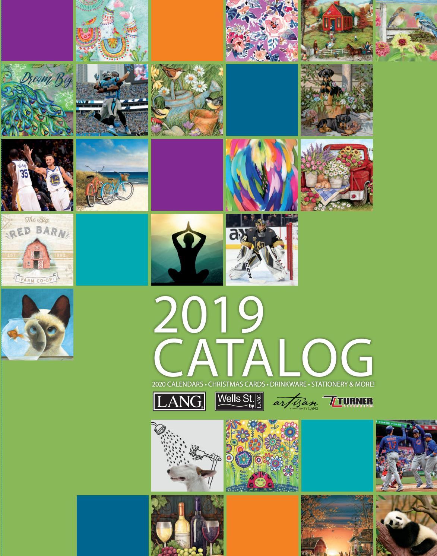2019 Lang Catalogthe Lang Companies - Issuu inside I Heart Naptime Calendar 2020