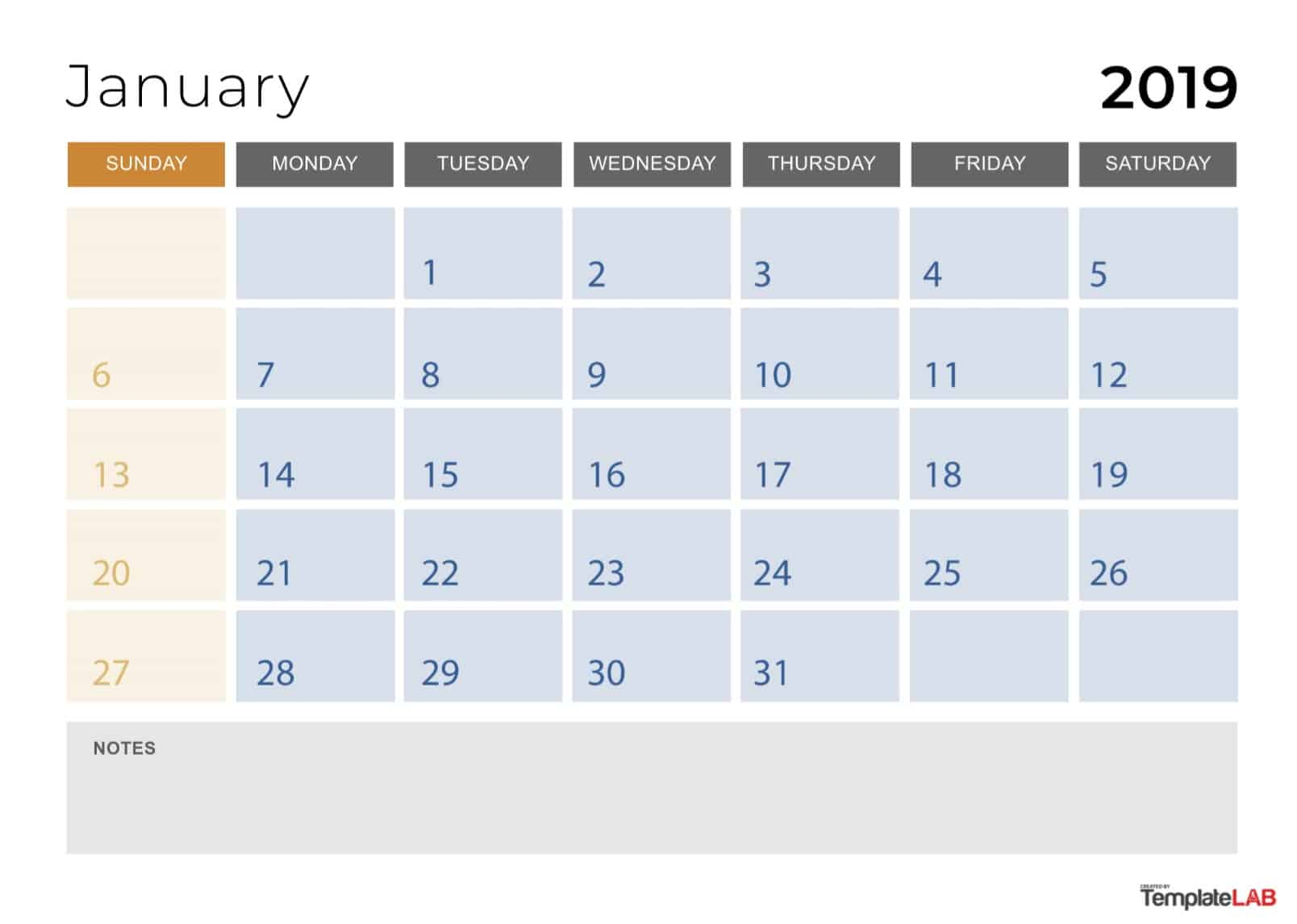 2019 Printable Calendars [Monthly, With Holidays, Yearly] ᐅ throughout Calendar Template With 194 Days