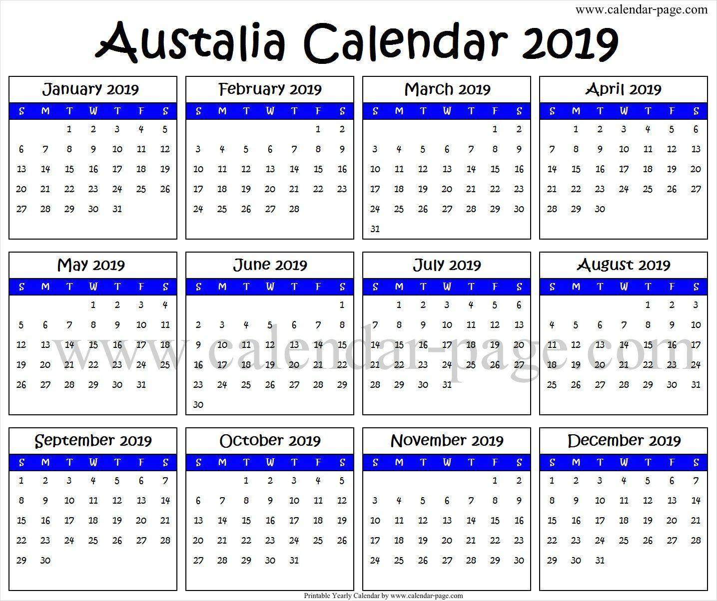2019 South Australian Calendar - Australia Moment pertaining to Split Calendar 2019 2020 South Australia