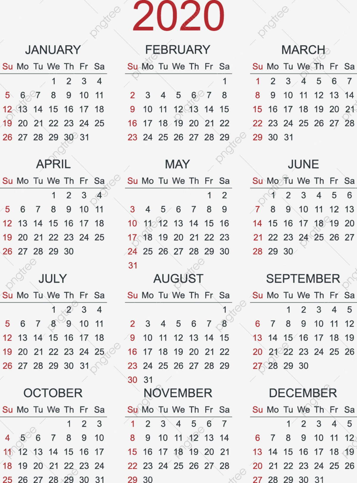 2020 Calendar Calendar 2020 Calendar Calendar 2020 Calendar within 11 X 8.5 Calendar Pages 2020 Free
