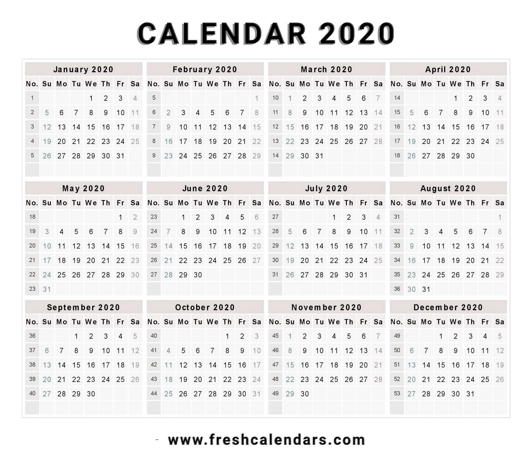 2020 Calendar | Isacl with regard to 2020 Printable Liturgical Calendar Free