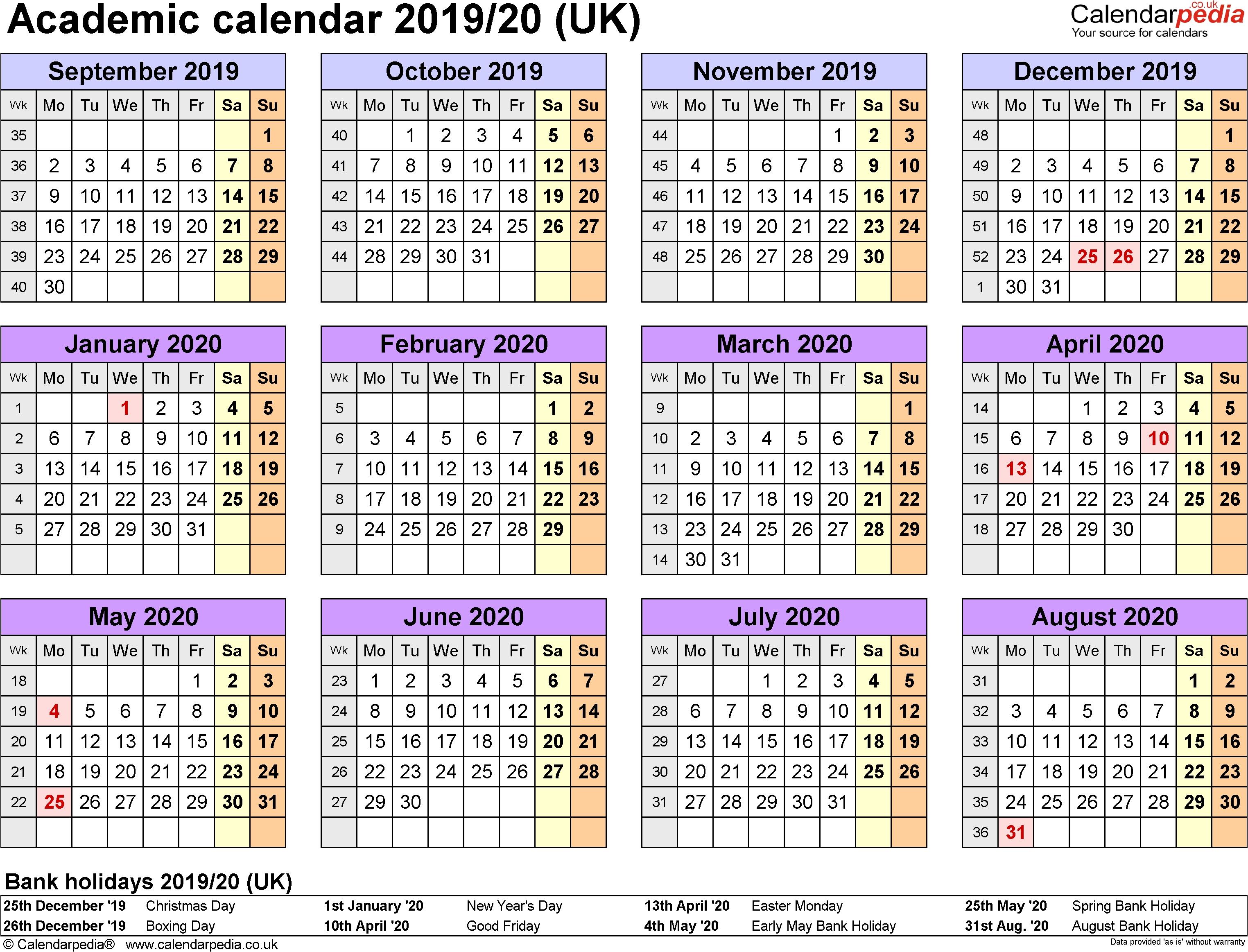 2020 Calendar Ortodox – Get Your Calendar Printable pertaining to Free Printable Unicorn Calendar 2019-2020