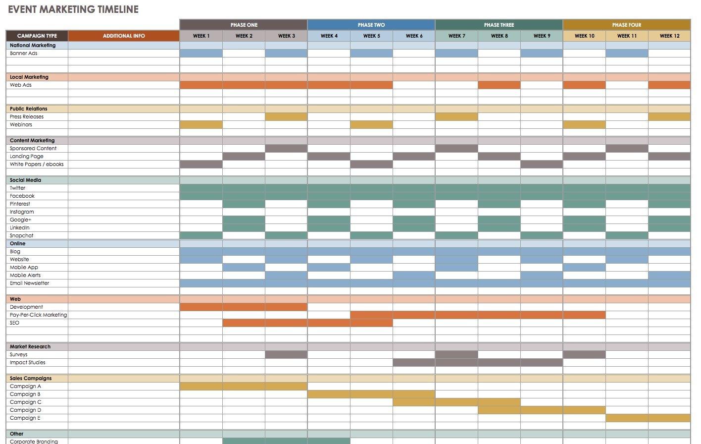 21 Free Event Planning Templates | Smartsheet regarding Event Guest List Template Excel