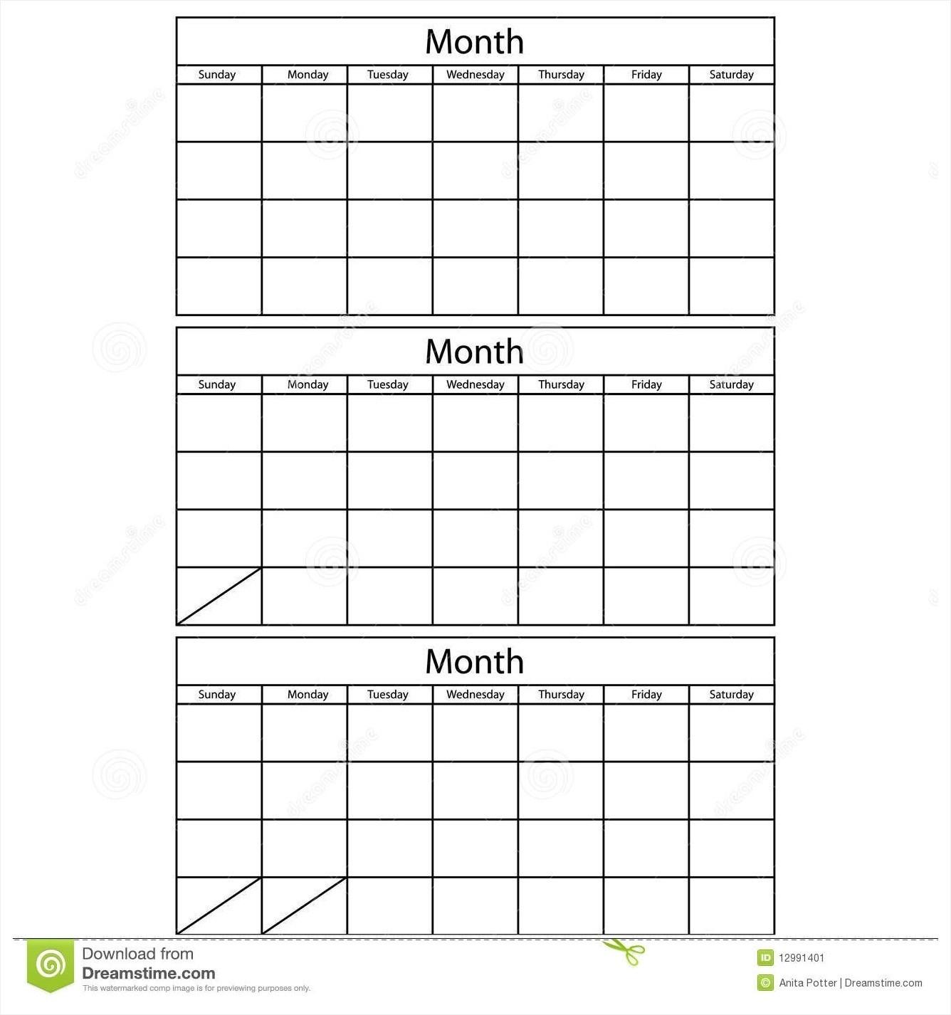 3 Month Calendar Template Word Printable 2017 Blank April Calendar for Free Printable 3 Month Calendar Template