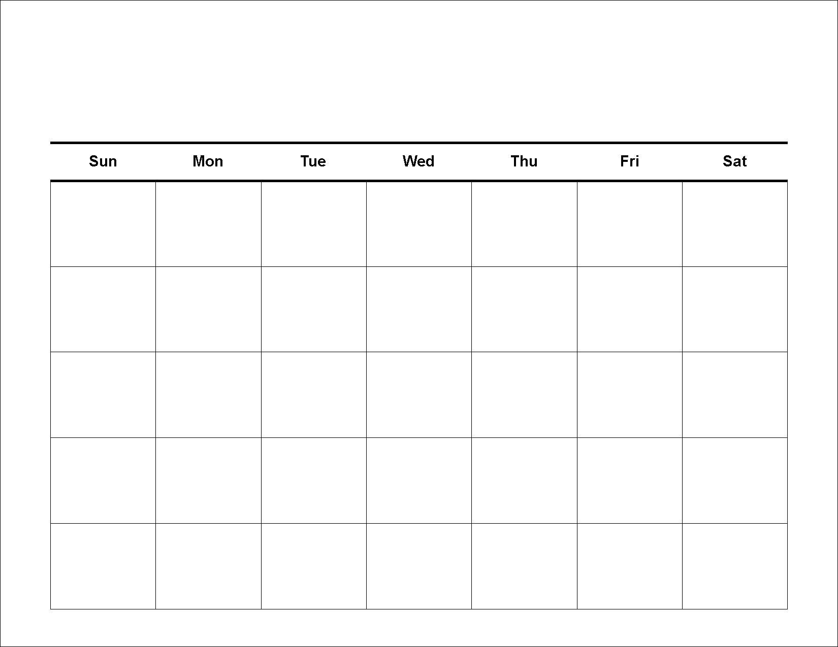30 Day Blank Calendar Template 2 Week Blank Calendar Printable with regard to Printable 2 Week Calendar Template