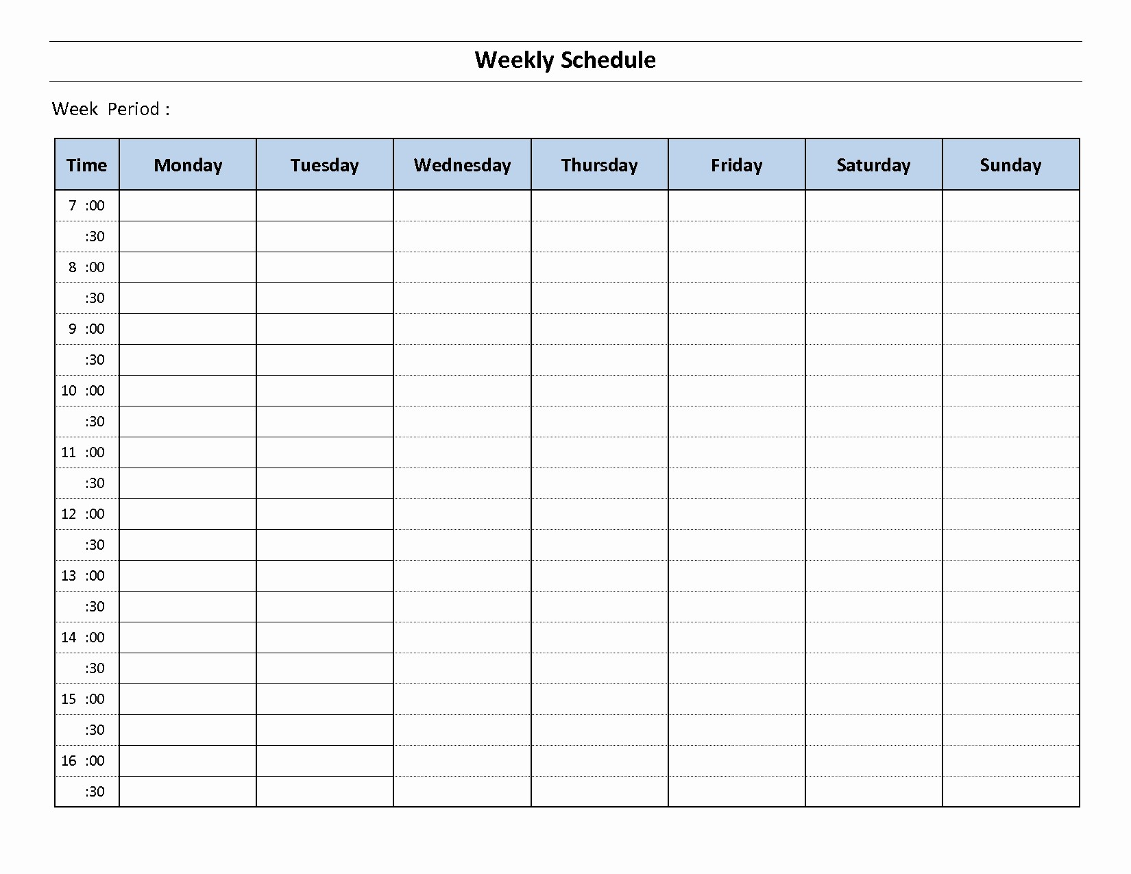 44 Monday To Sunday Calendar Template | Ufreeonline Template intended for Calendar Template Monday To Sunday