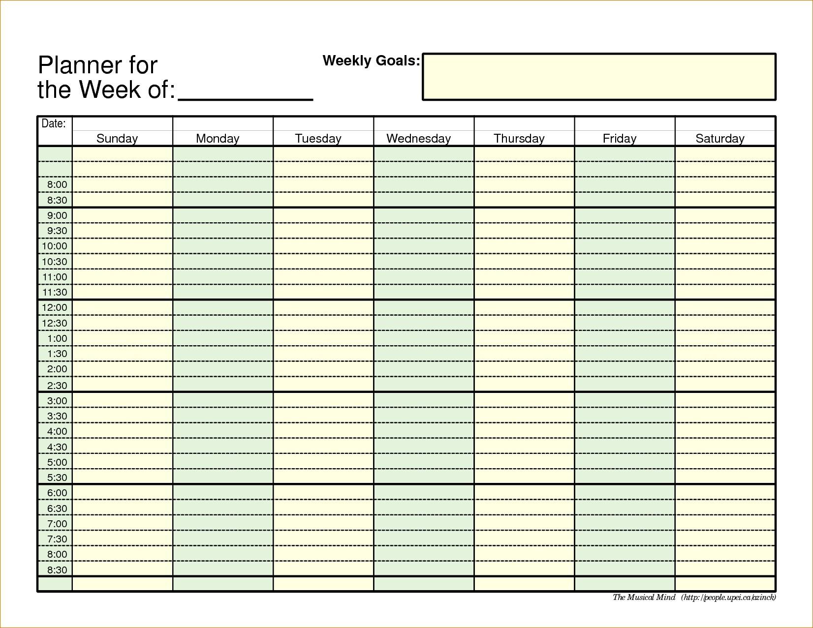 5 Day Calendar Template 6584253 Within 5 Day Calendar Template Excel inside 5 Day Calendar Template Word