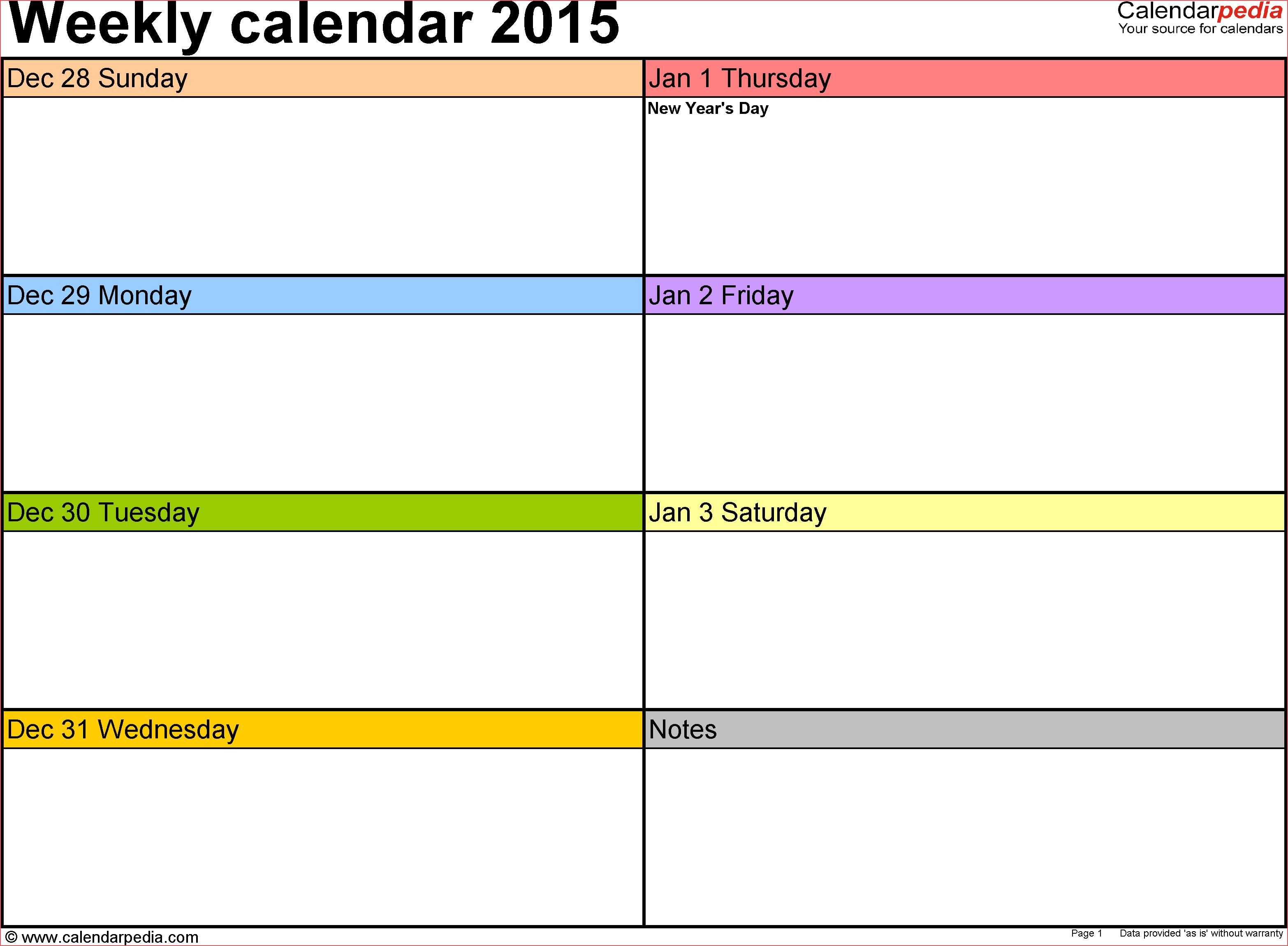 6 Week Printable Calendar 2 Week Blank Calendar Free Calendar inside 6 Week Blank Schedule Template