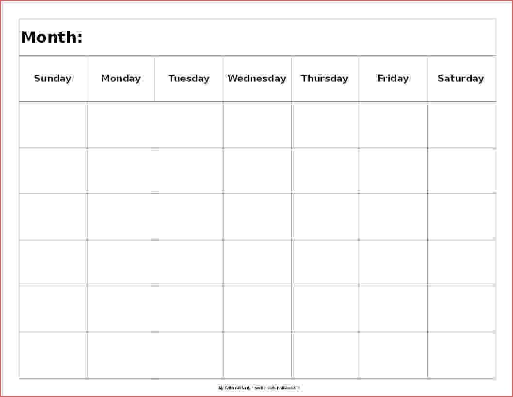 6 Week Printable Calendar Awesome 2 Week Printable Calendar Free-6 pertaining to 6 Week Printable Blank Calendar