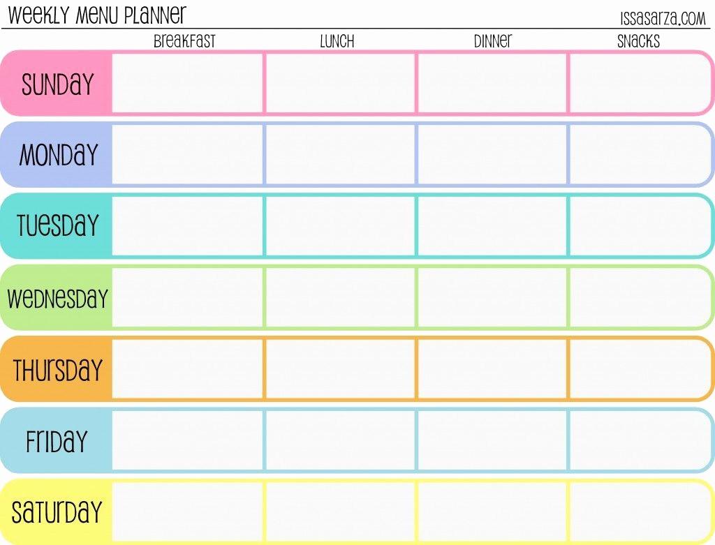 7 Day Week Calendar Template Fresh Pindebbie Erickson On regarding Weekly Calendar Template 7 Day