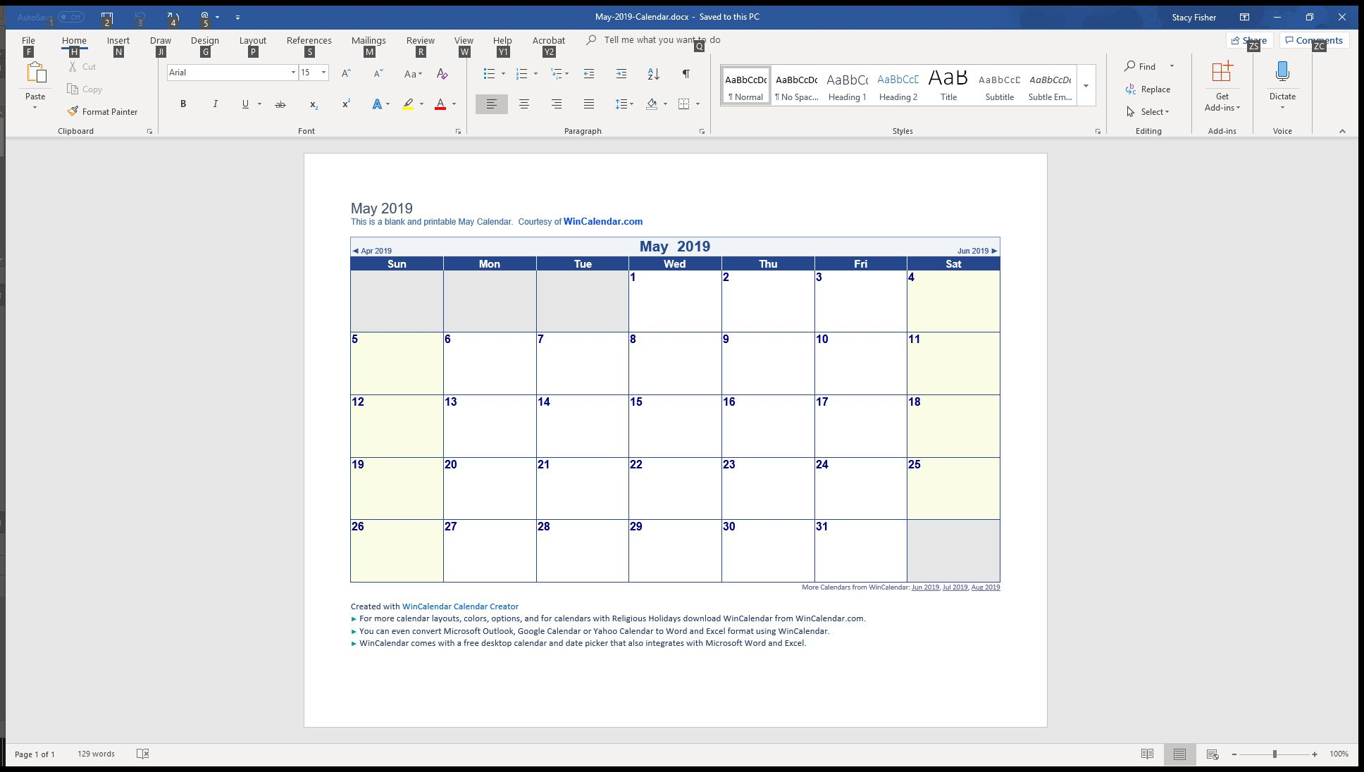 7 Top Place To Find Free Calendar Templates For Word with regard to Blank Printable Calendar M-F