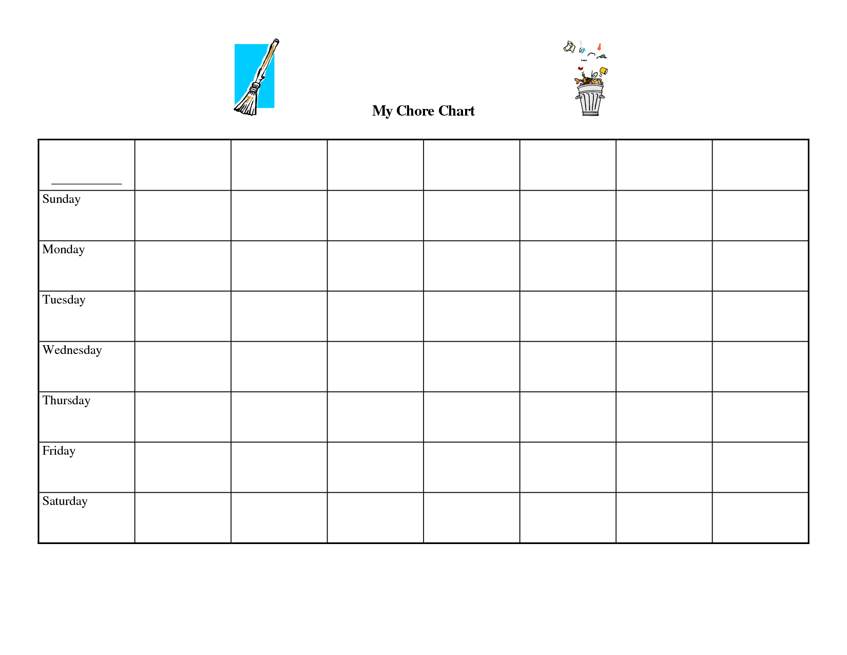 9 Images Of Free Printable Blank Chart Templates | Printables - Lots with regard to Free Blank Templates To Print