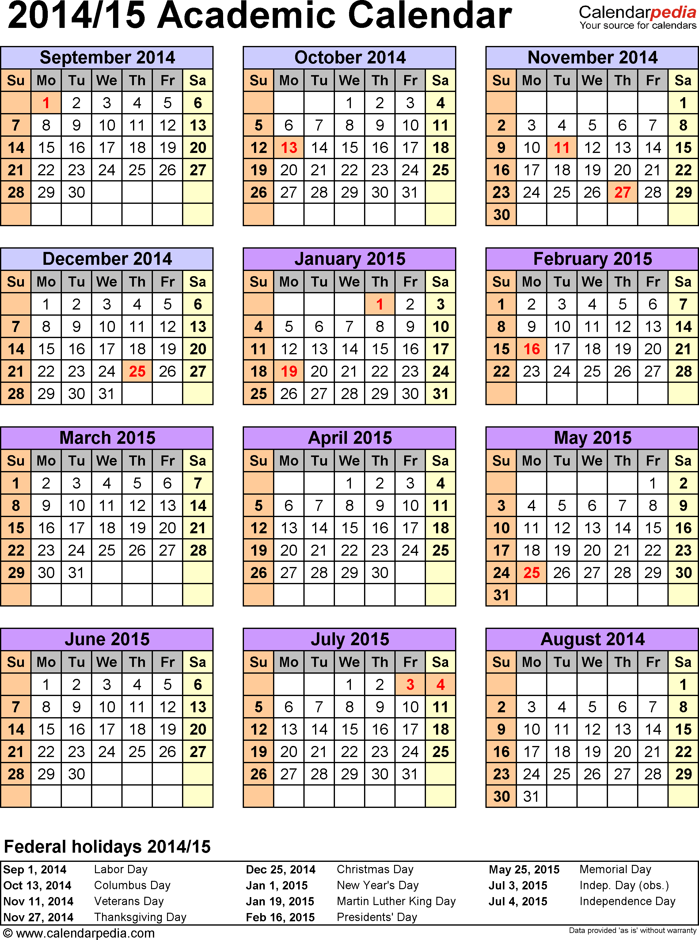 Academic Calendar-Cds | Department Of Education throughout 18 School Calendar Template