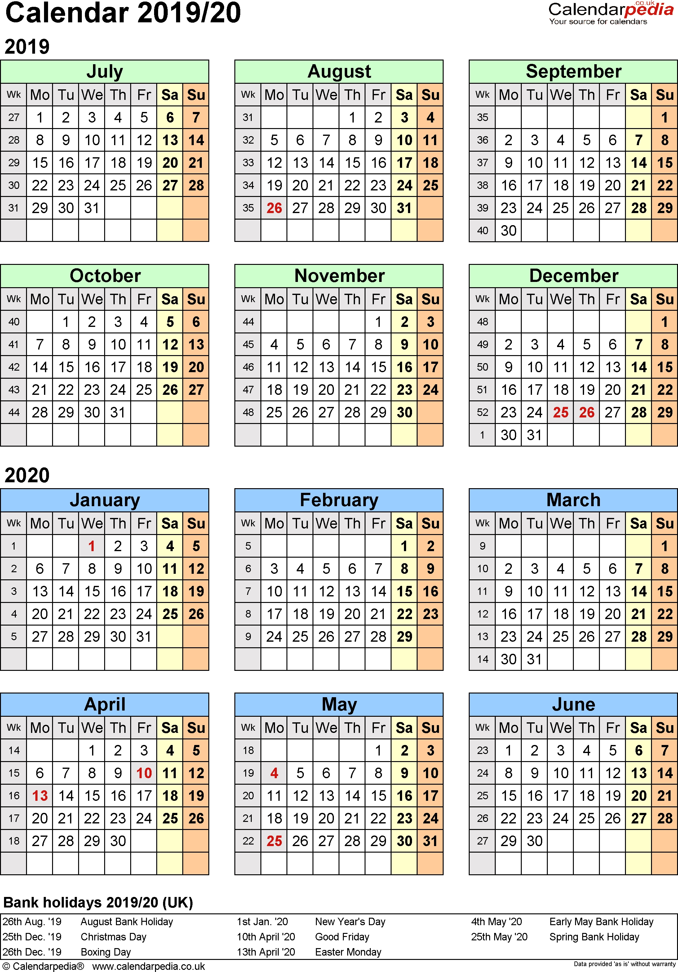 April Calendar Archives » Creative Calendar Ideas with regard to Split Calendar 2019 2020 South Australia