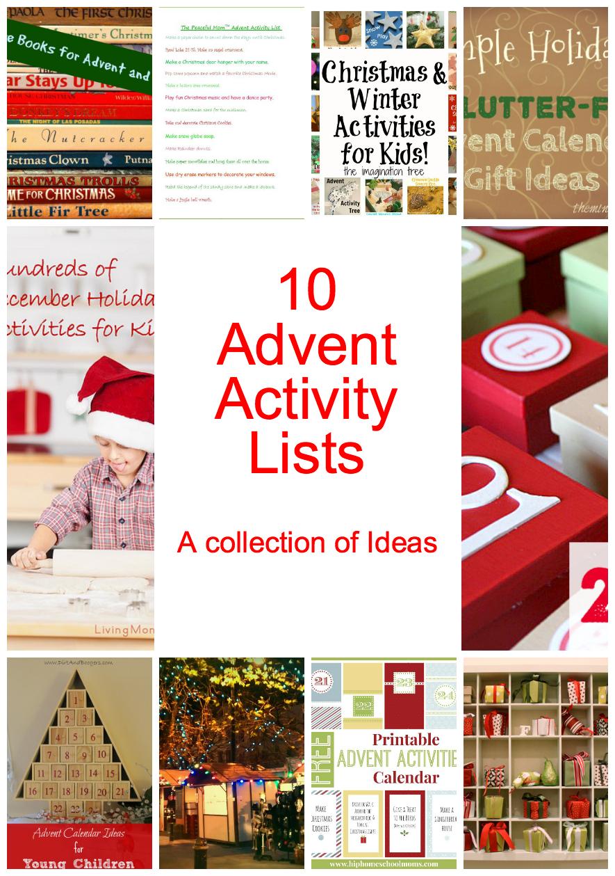 Awesome Diy Advent Calendar Ideas {+25 Days Of Ideas} with Free Printable Blank Advent Activities List Minimal