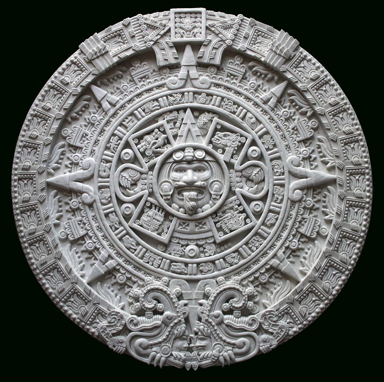 Aztec Calendar Printable Template   Calendar Template ...