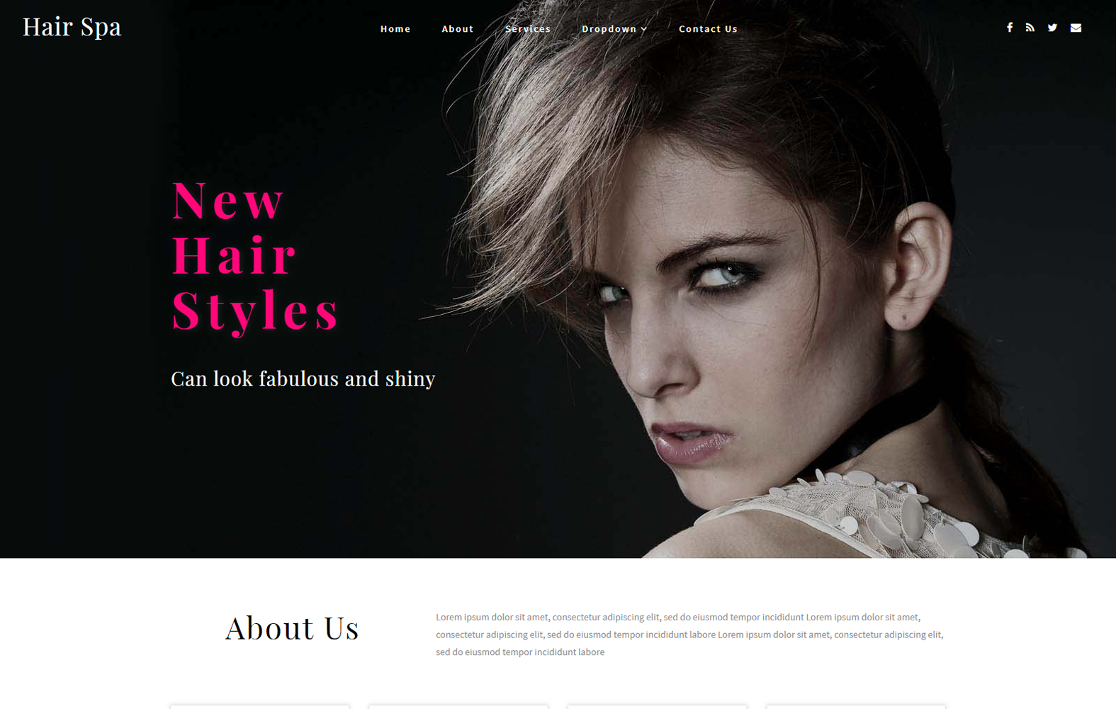 Beauty & Spa Website Templates | Online Store - W3Layouts regarding Hair Appointment Schedule Template