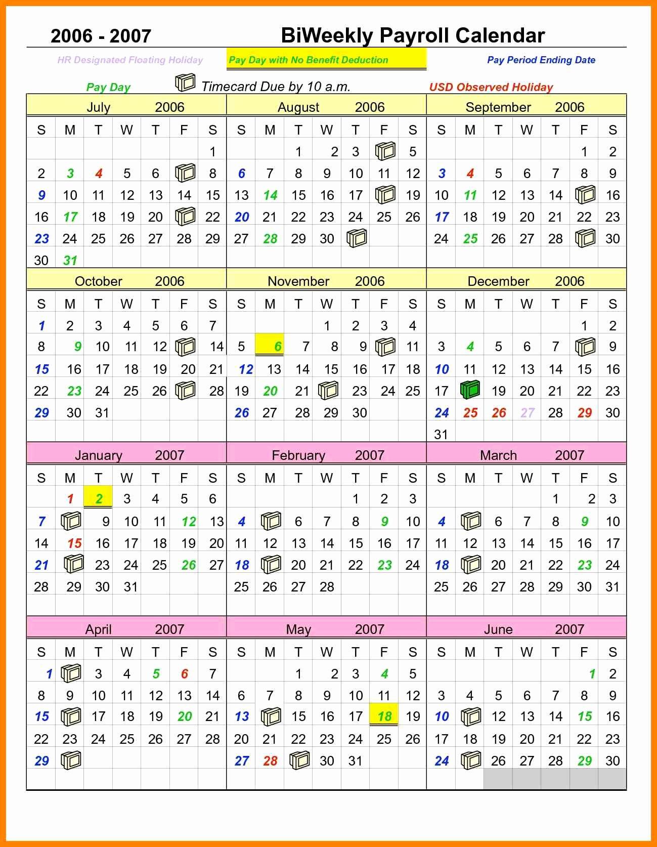 Biweekly Payroll Calendar Template 2017 | Latter Example Template within Biweekly Payroll Schedule Template