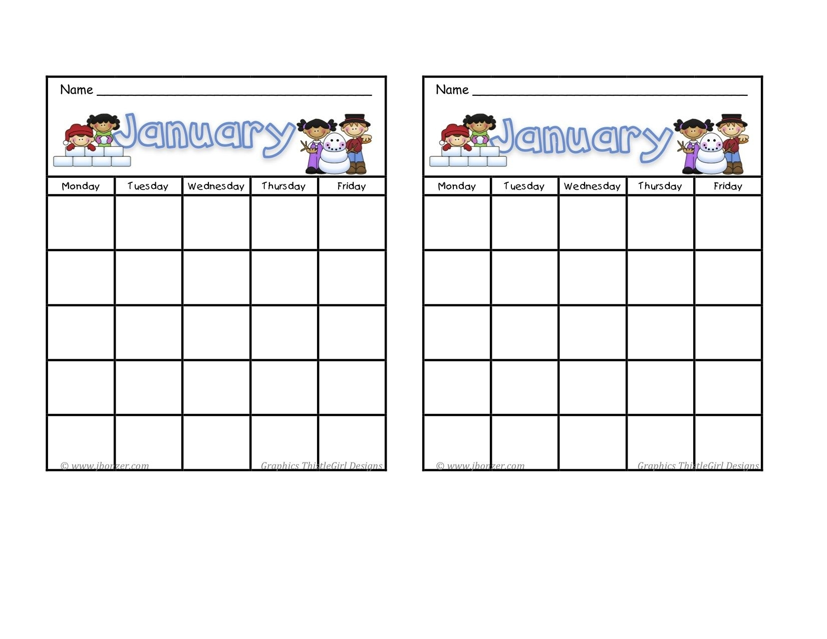 Blank Calendar Chart For Classrooms | Template Calendar Printable with regard to Blank Calendar Chart For Classrooms