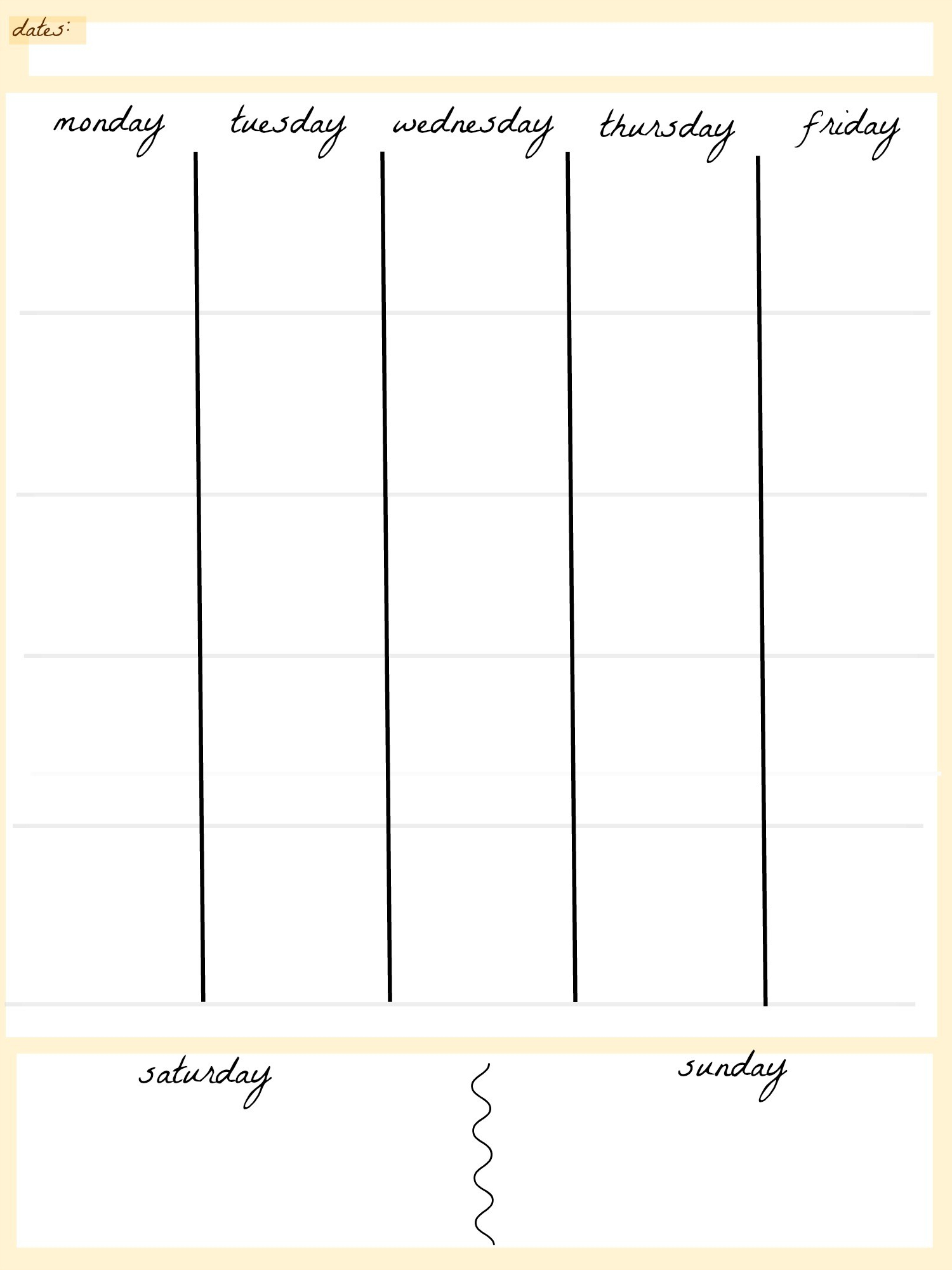 Blank Calendar Template 5 Day Week Weekly Calendar 5 Day Travel Cal1 in 5 Day Calendar Template